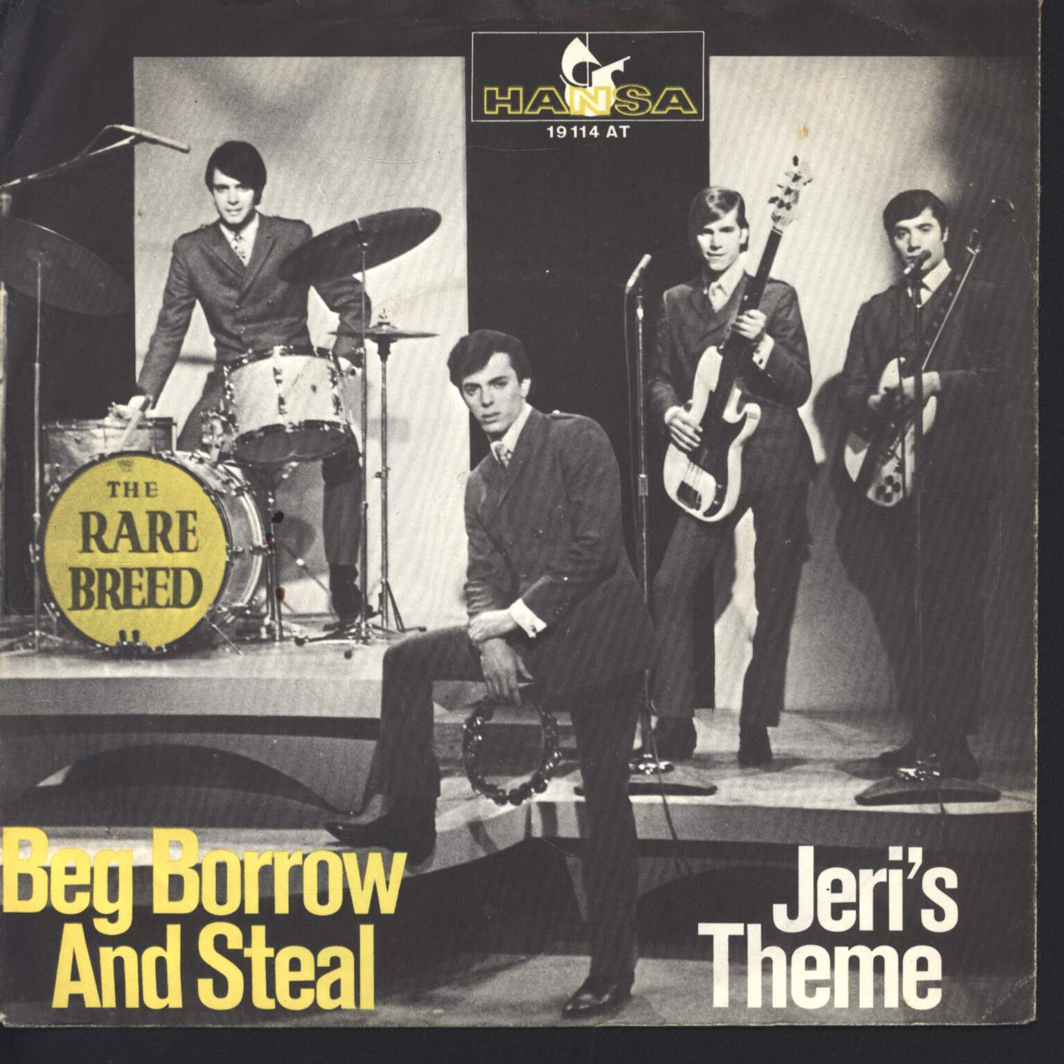 "The Rare Breed: Beg, Borrow And Steal, 1×7"" Single (Vinyl)"