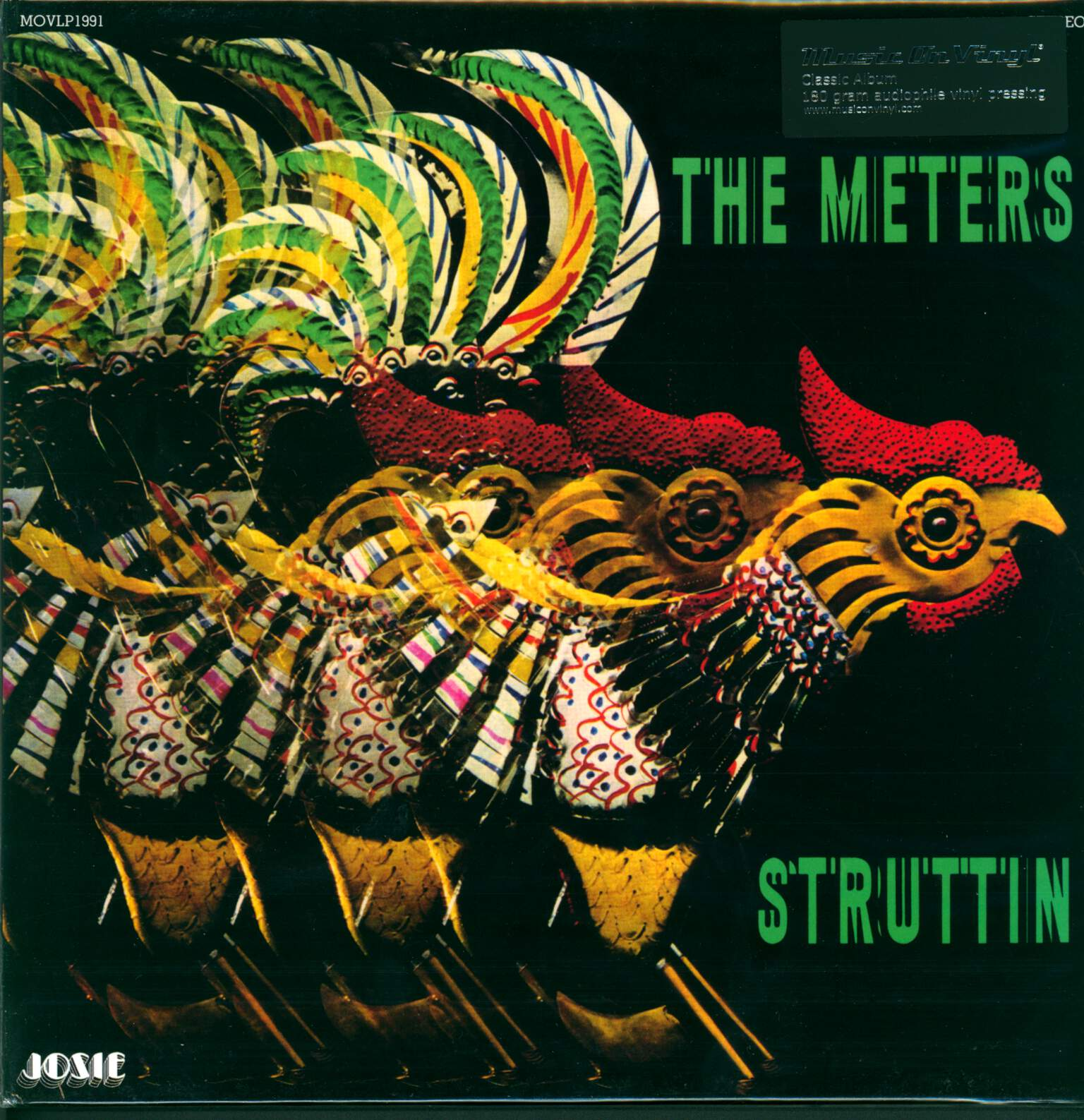 The Meters: Struttin', 1×LP (Vinyl)