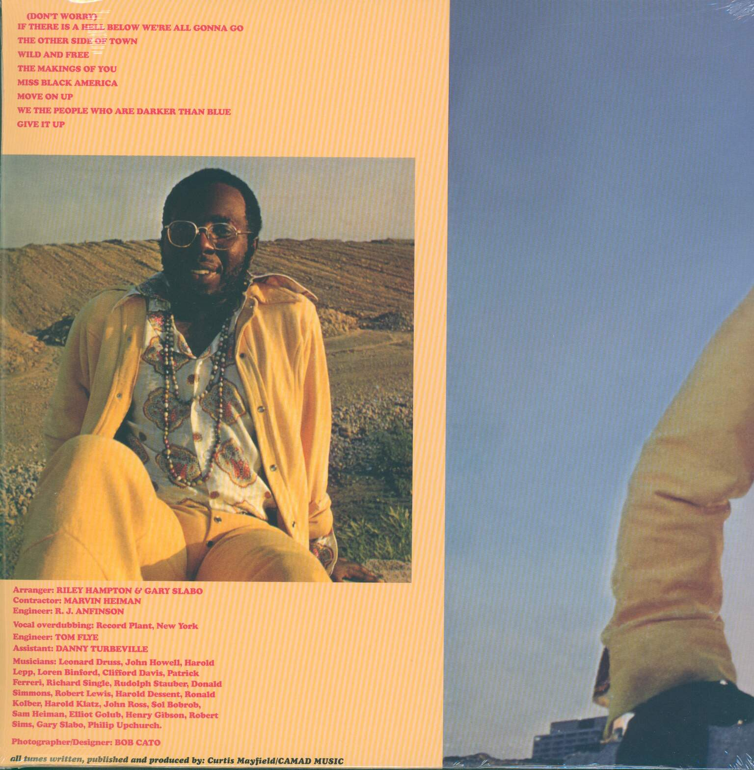 Curtis Mayfield: Curtis, 1×LP (Vinyl)