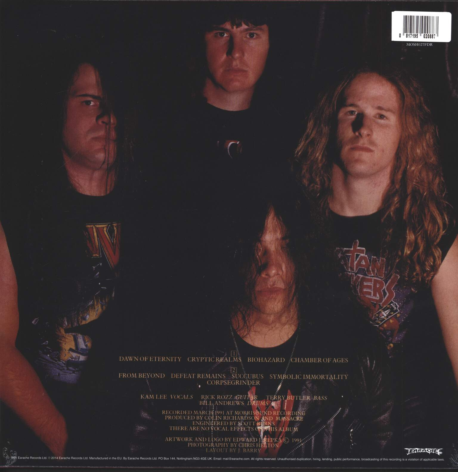 Massacre: From Beyond, 1×LP (Vinyl)