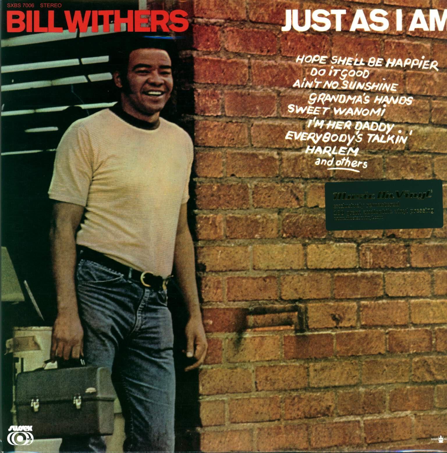 Bill Withers: Just As I Am, 1×LP (Vinyl)