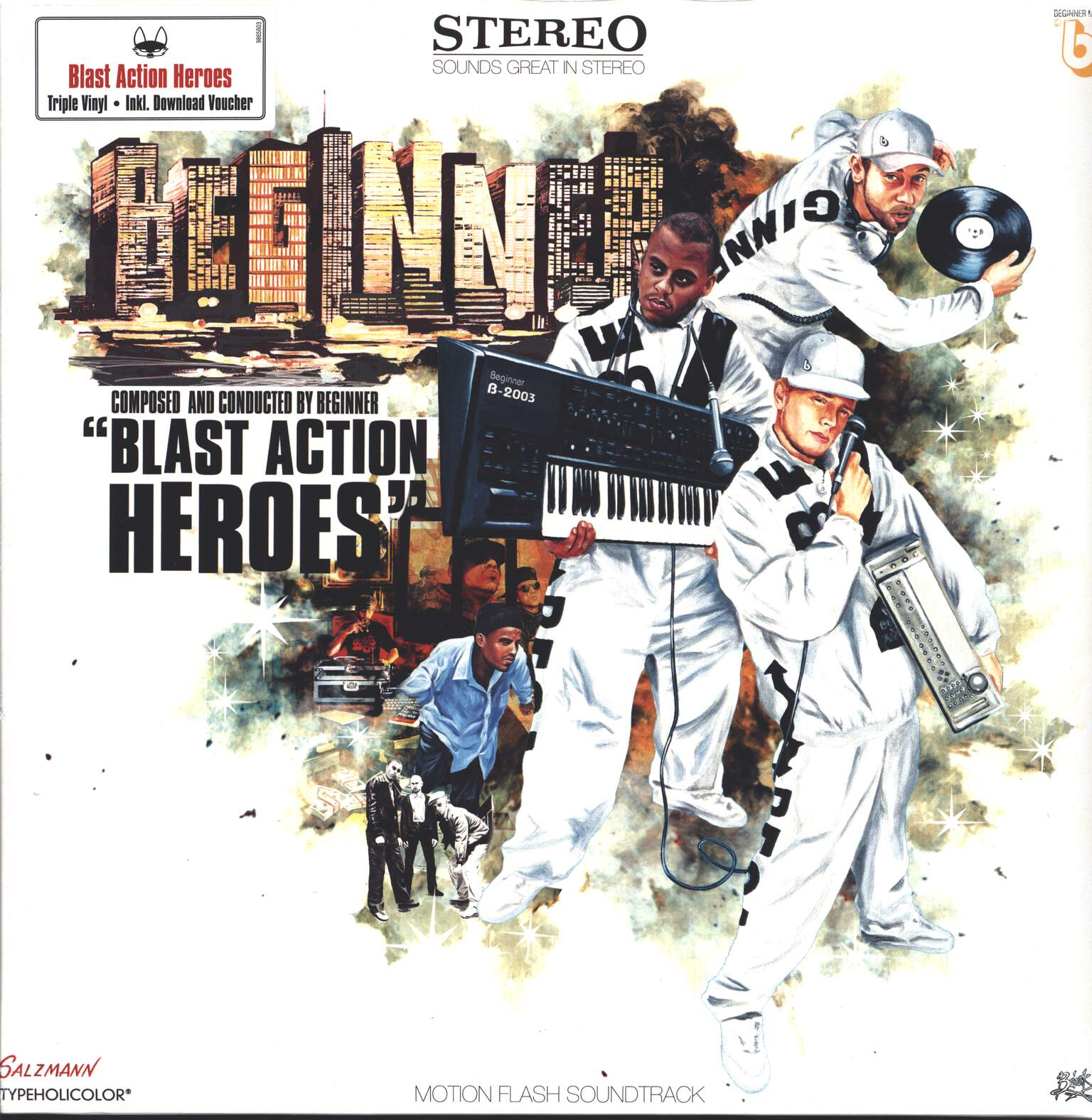 Beginner: Blast Action Heroes, 3×LP (Vinyl)