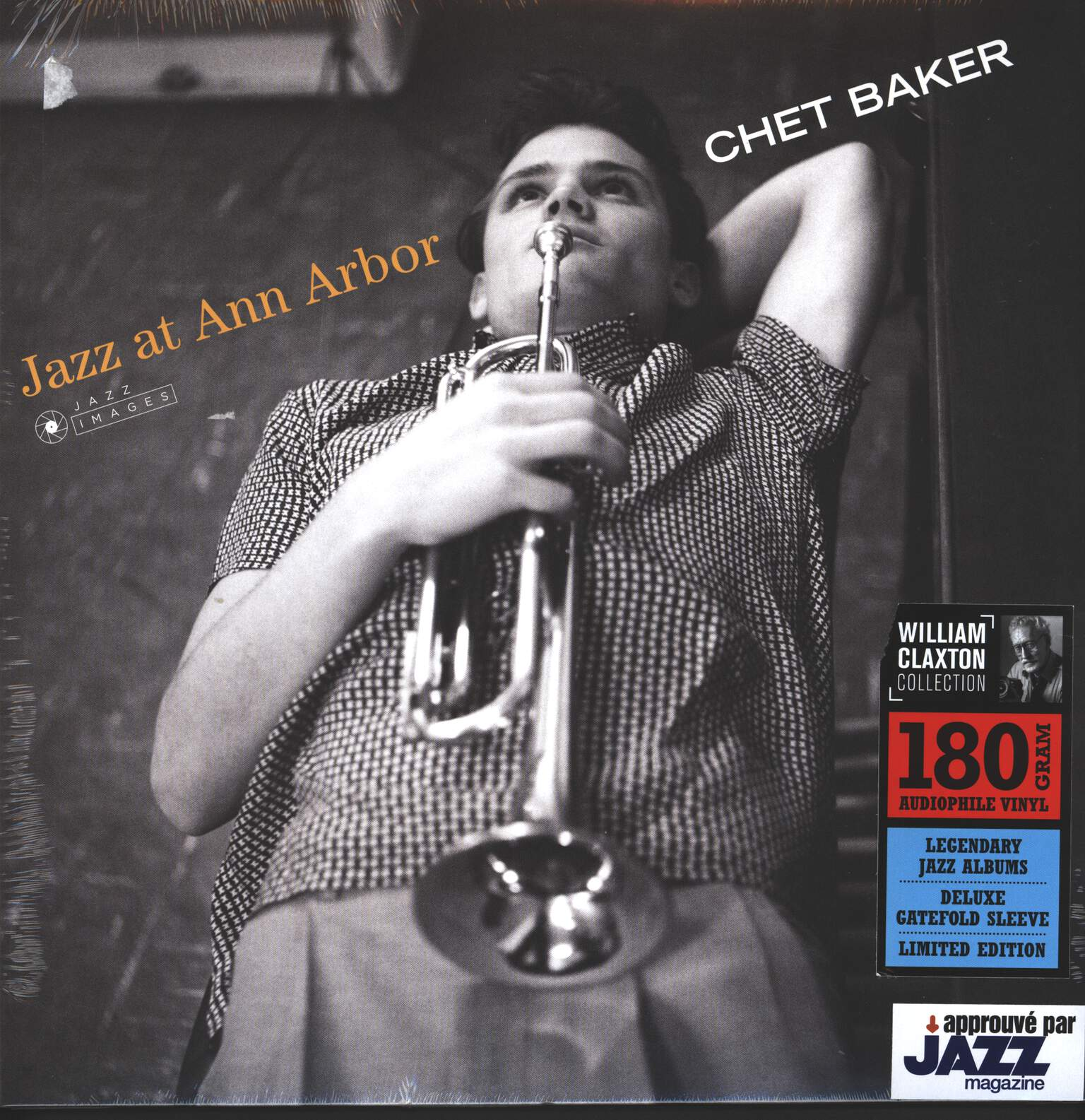 Chet Baker: Jazz at Ann Arbor, 1×LP (Vinyl)