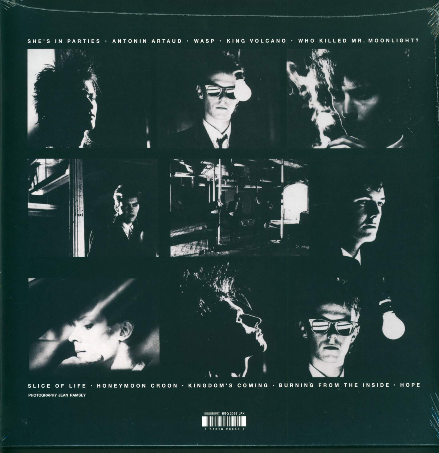 Bauhaus: Burning From The Inside, 1×LP (Vinyl)