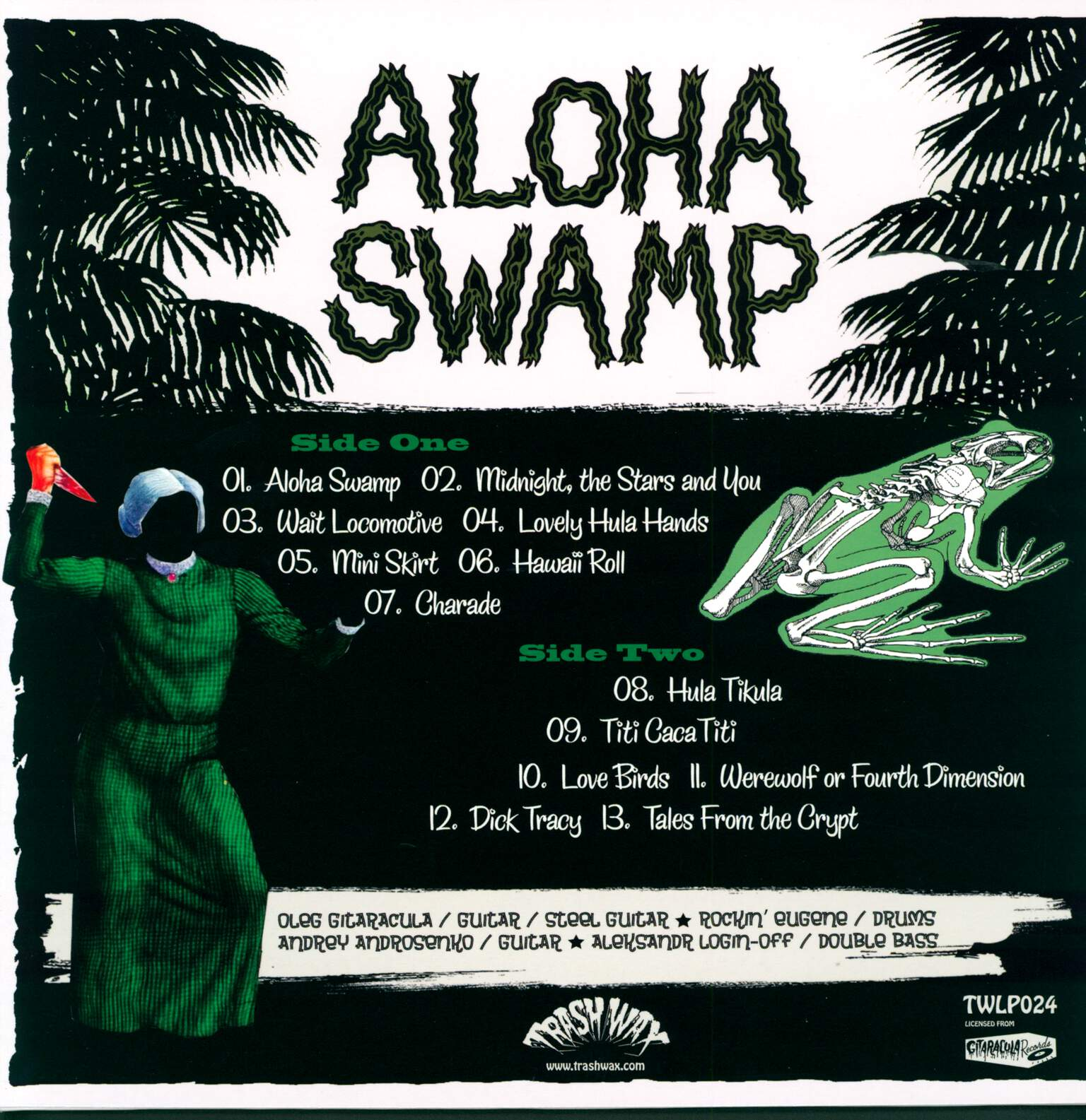 Aloha Swamp: Swamp Vacation (All Inclusive), 1×LP (Vinyl)