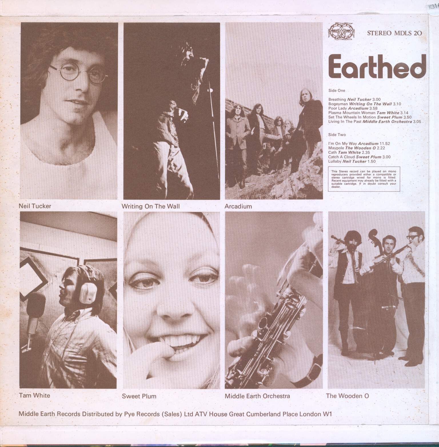 Various: Earthed, 1×LP (Vinyl)