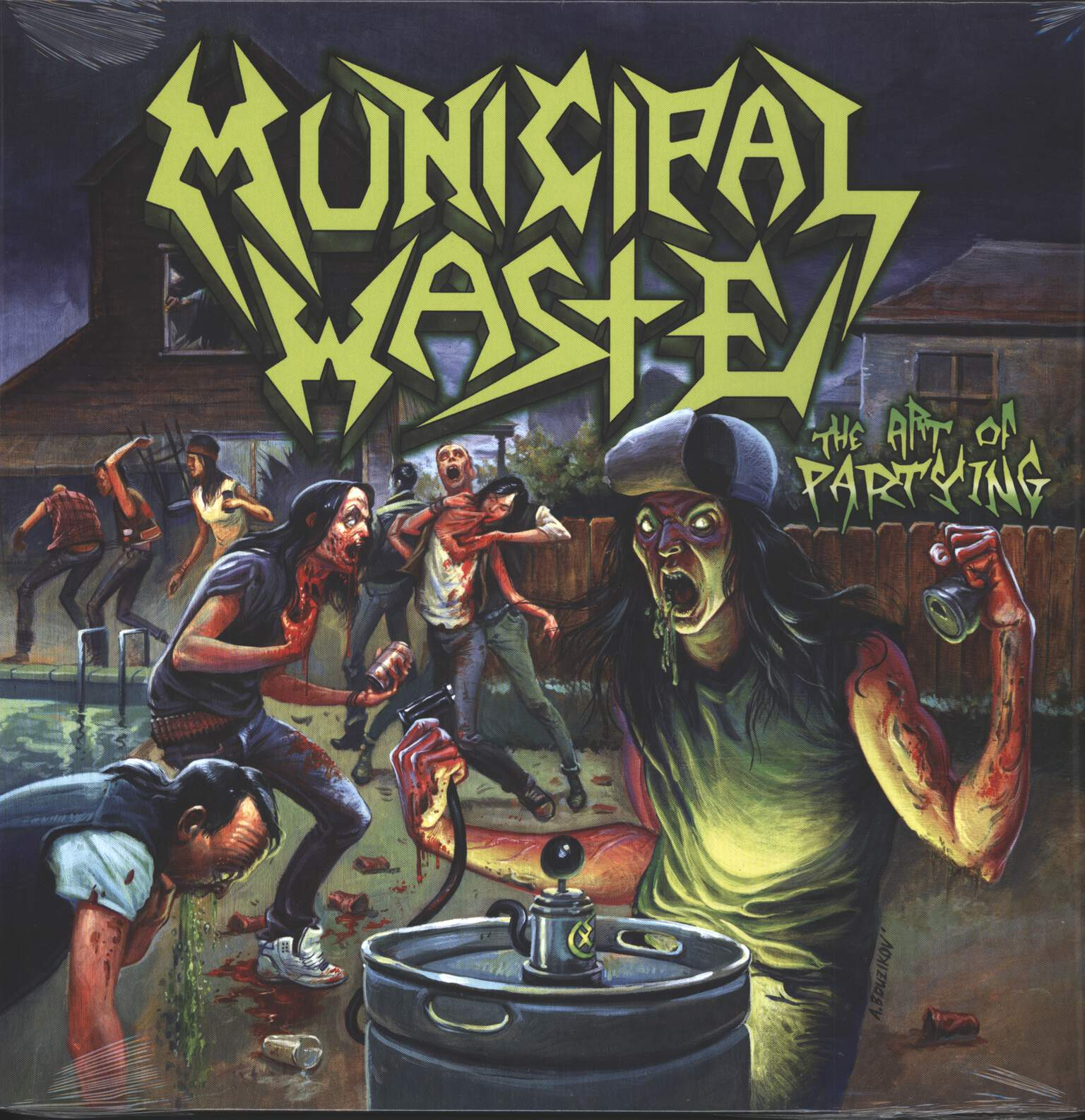 Municipal Waste: The Art Of Partying, 1×LP (Vinyl)