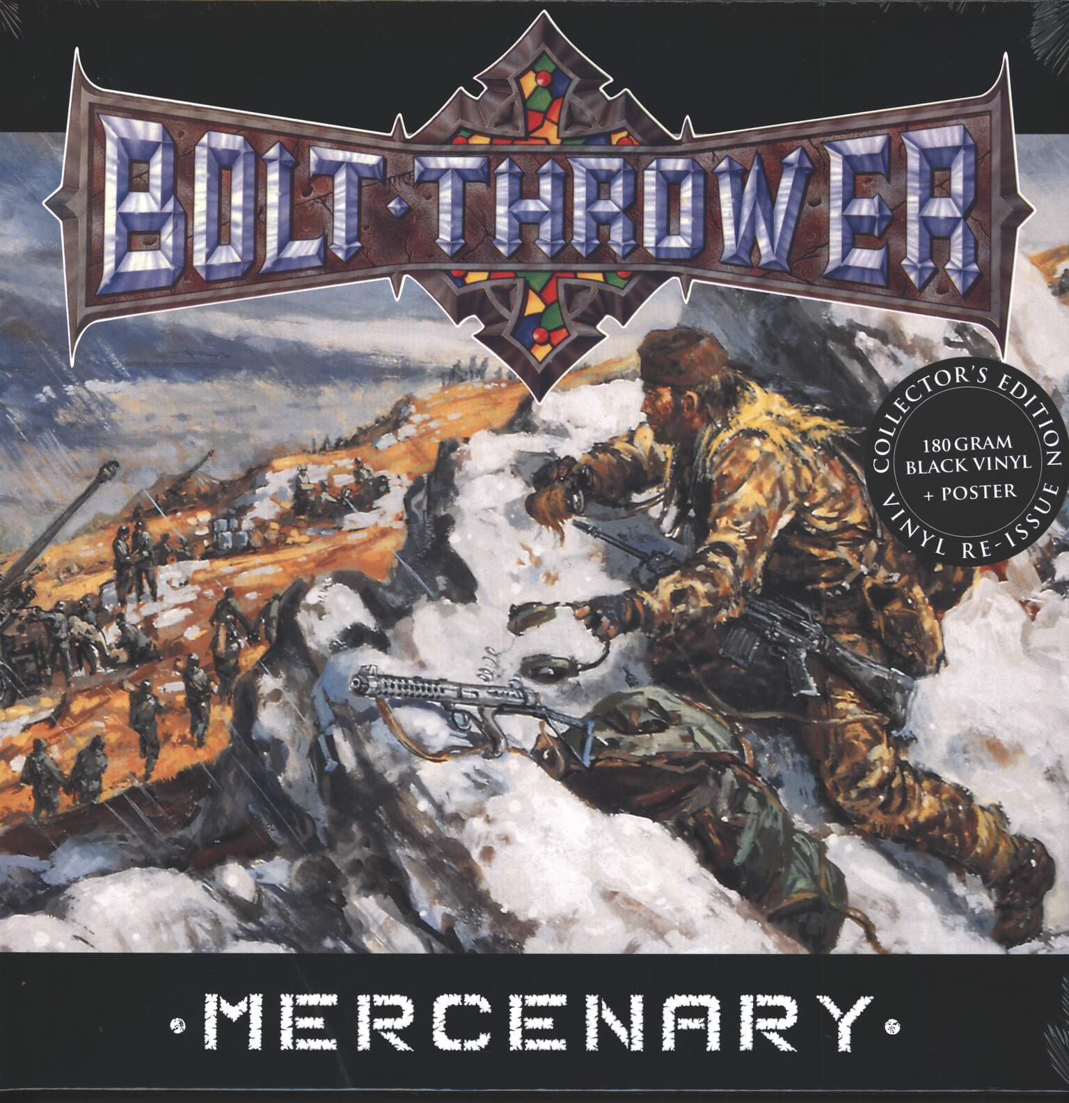 Bolt Thrower: Mercenary, 1×LP (Vinyl)