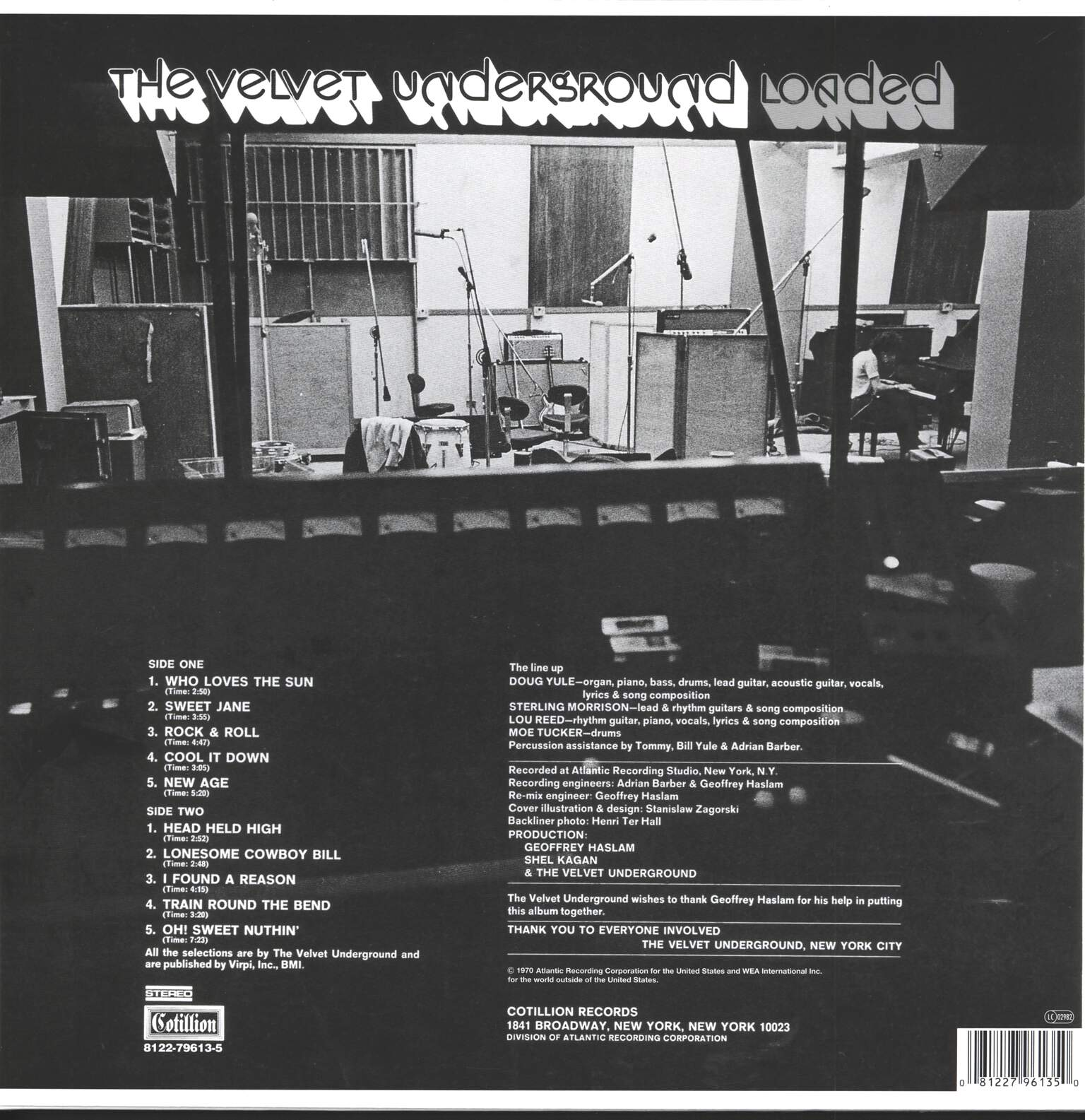The Velvet Underground: Loaded, 1×LP (Vinyl)