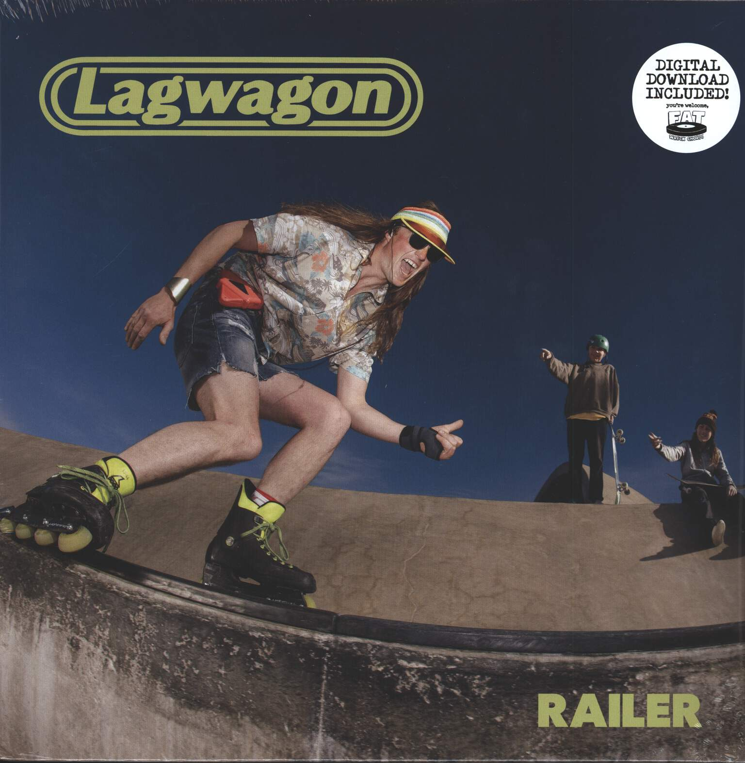 Lagwagon: Railer, 1×LP (Vinyl)