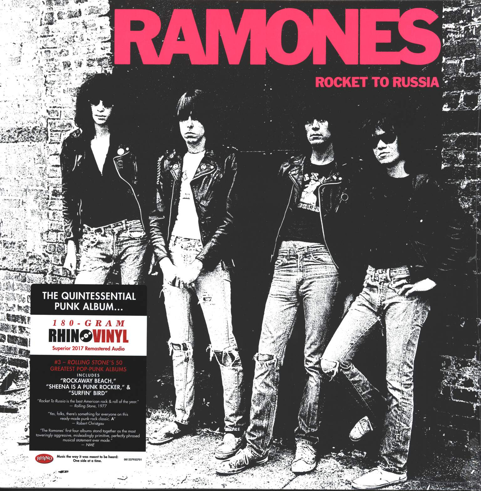 Ramones: Rocket To Russia, 1×LP (Vinyl)