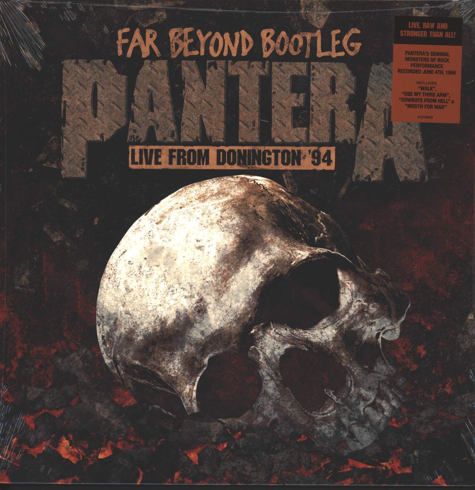 Pantera: Far Beyond Bootleg - Live From Donington '94, 1×LP (Vinyl)