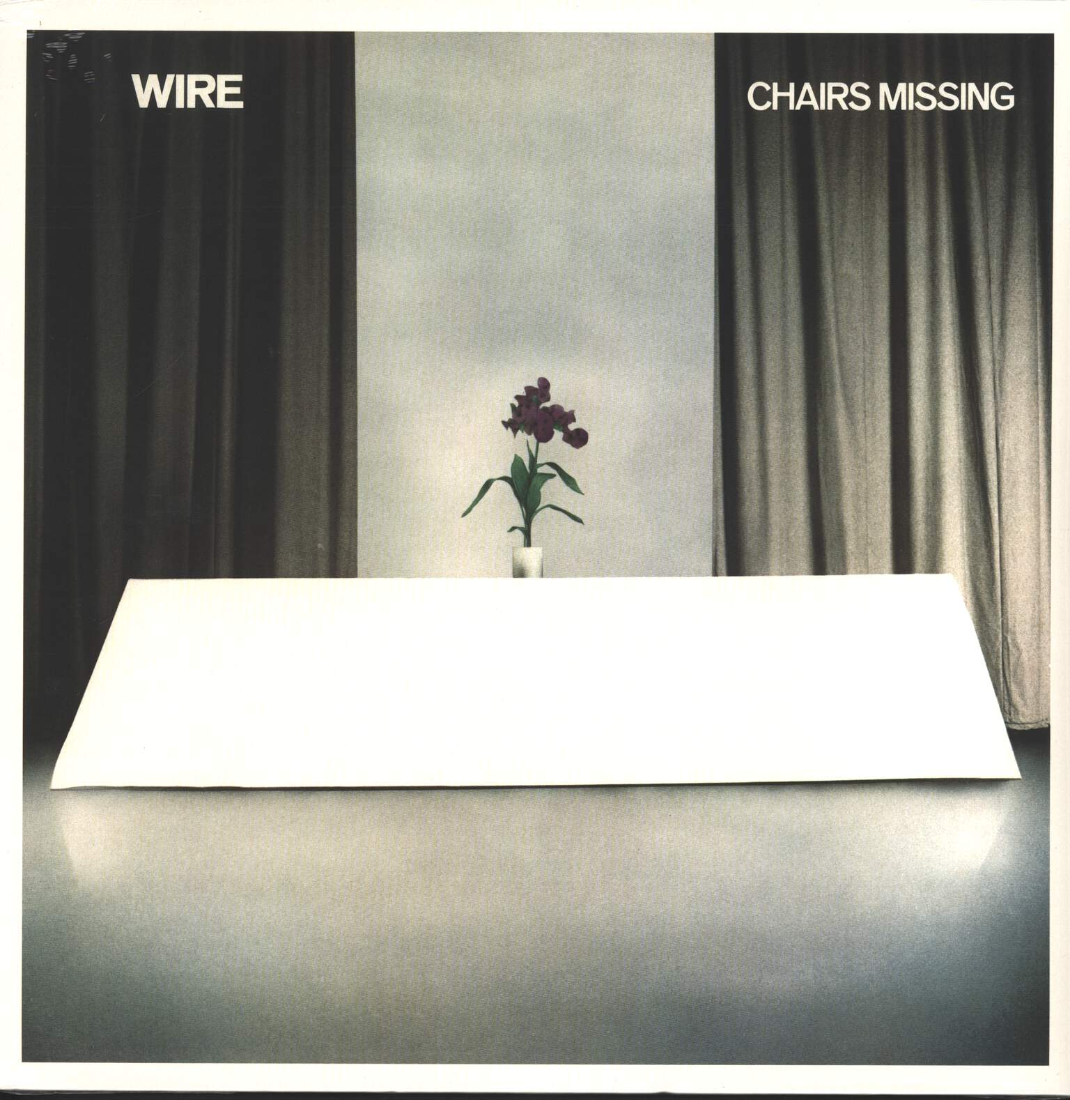 Wire: Chairs Missing, 1×LP (Vinyl)