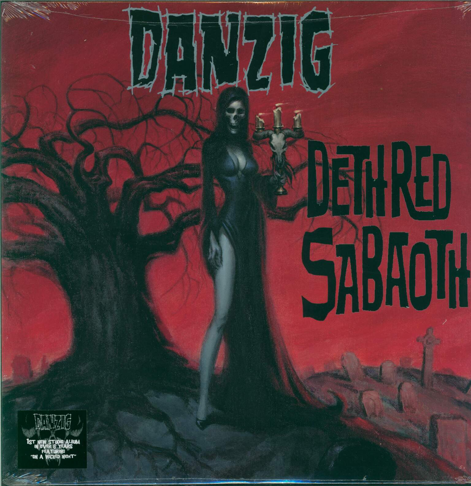 Danzig: Deth Red Sabaoth, 1×LP (Vinyl)