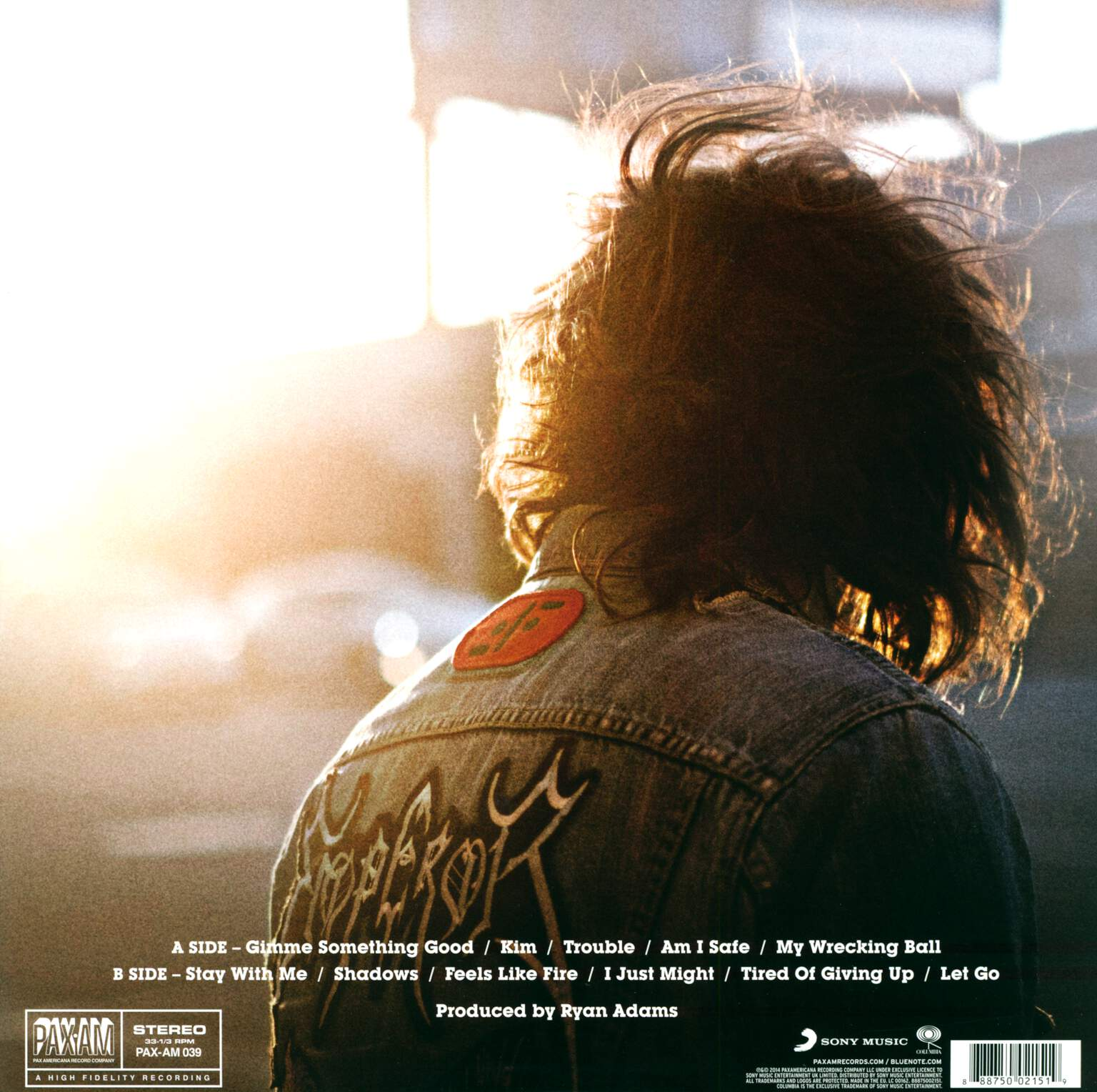 Ryan Adams: Ryan Adams, 1×LP (Vinyl)