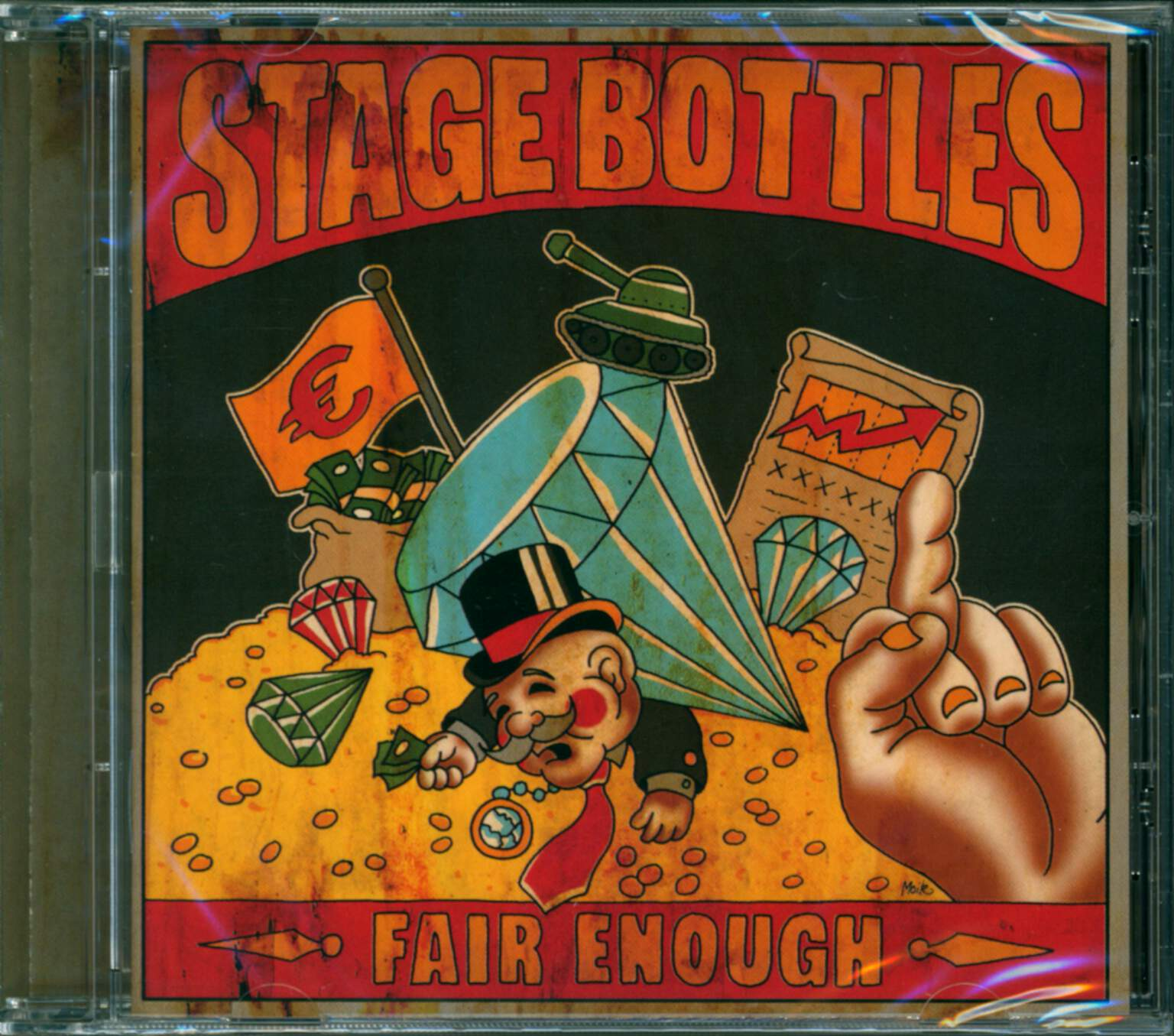 Stage Bottles: Fair Enough, 1×CD