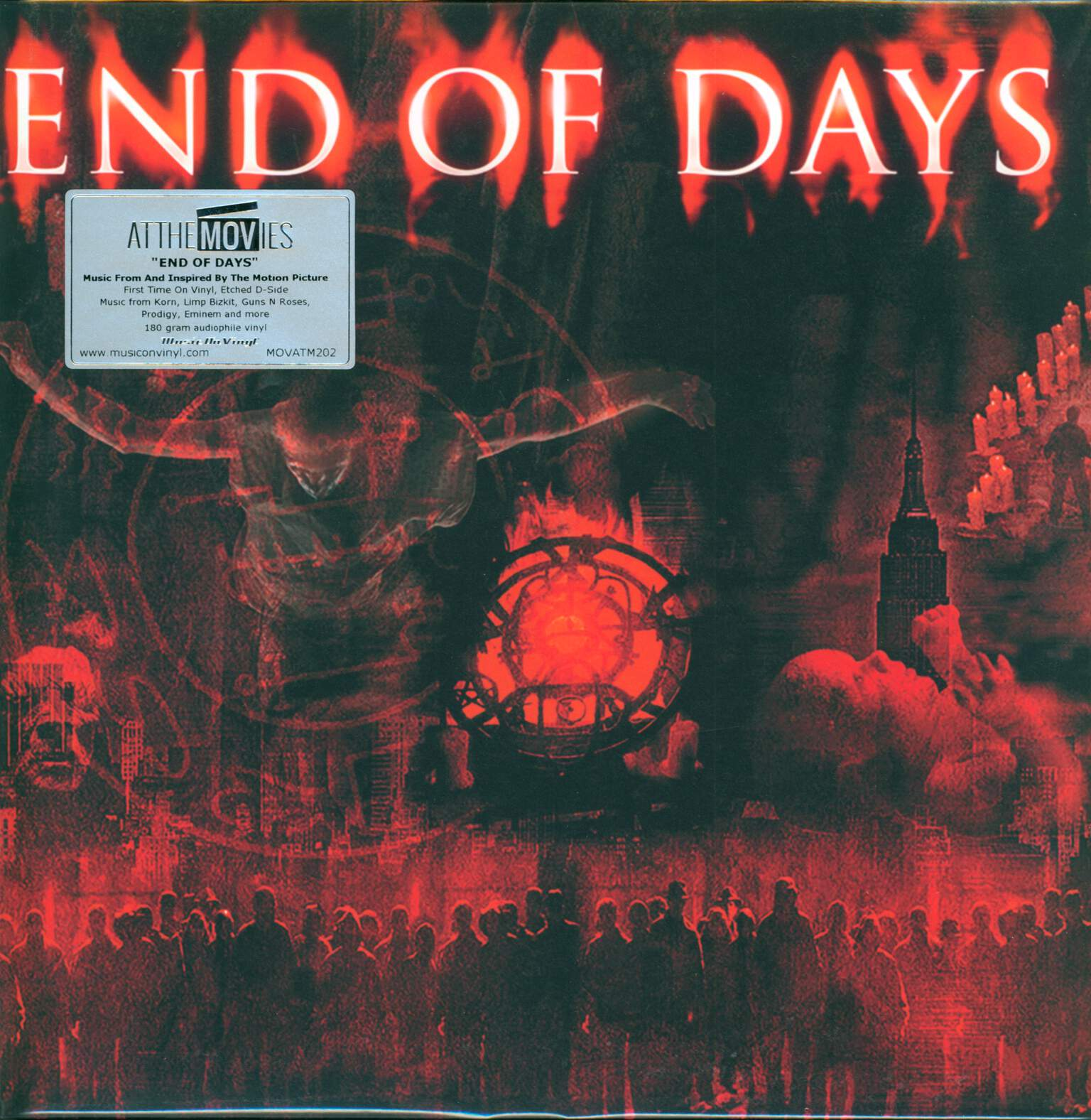 Various: End Of Days (Music From And Inspired By The Motion Picture), 1×LP (Vinyl), 1×LP (Vinyl)