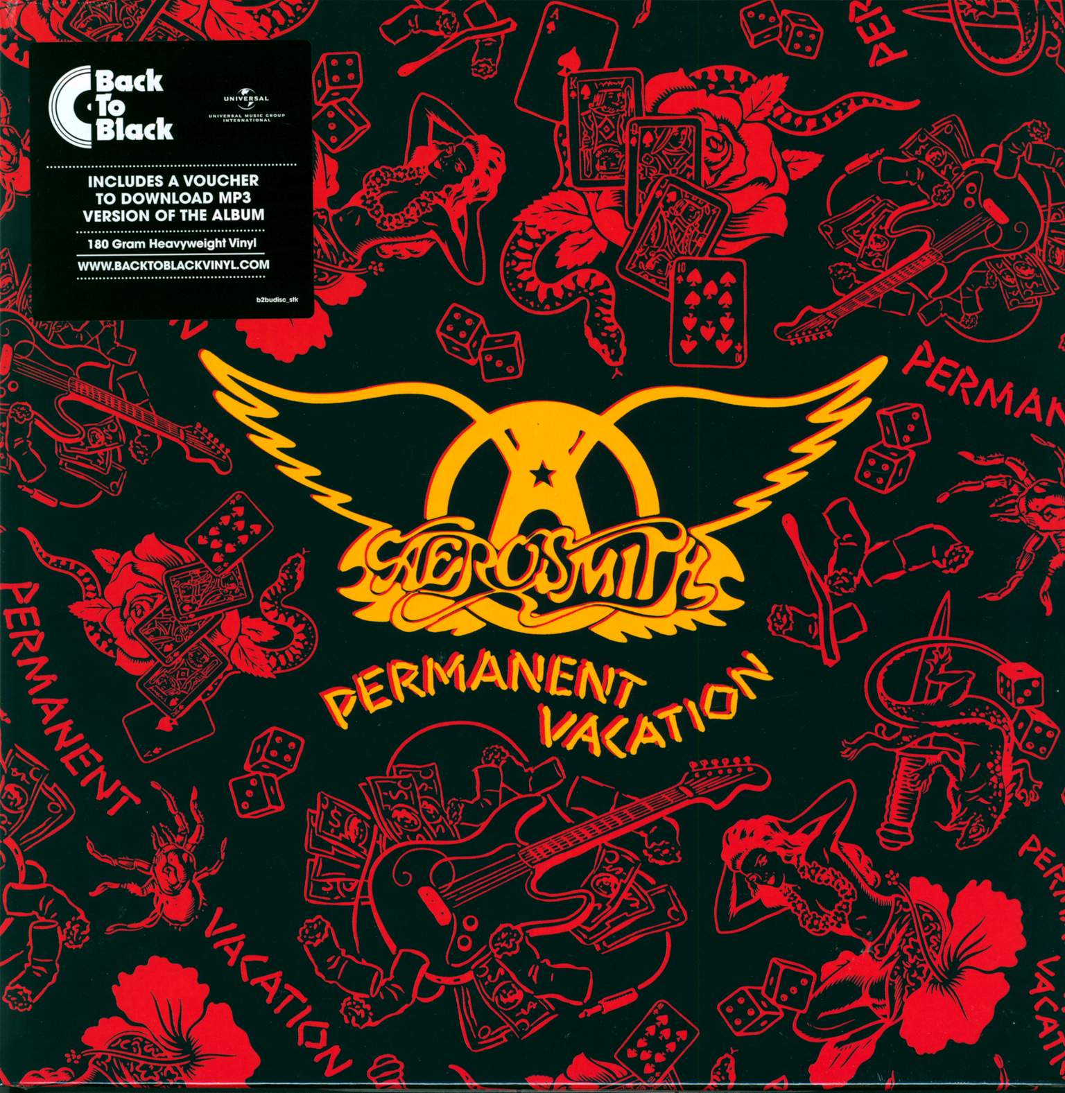 Aerosmith: Permanent Vacation, 1×LP (Vinyl)