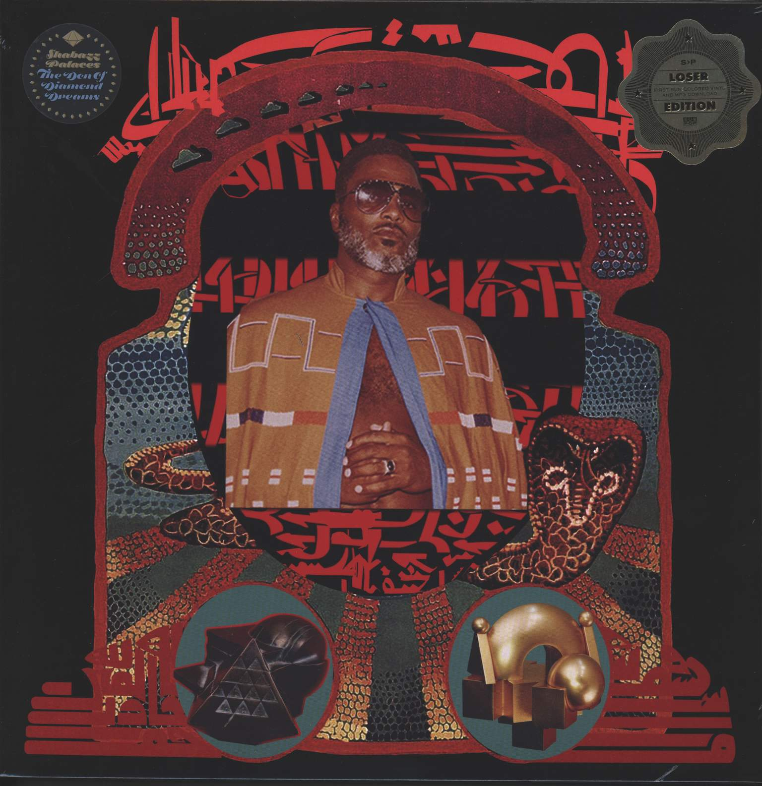 Shabazz Palaces: The Don Of Diamond Dreams, 1×LP (Vinyl)