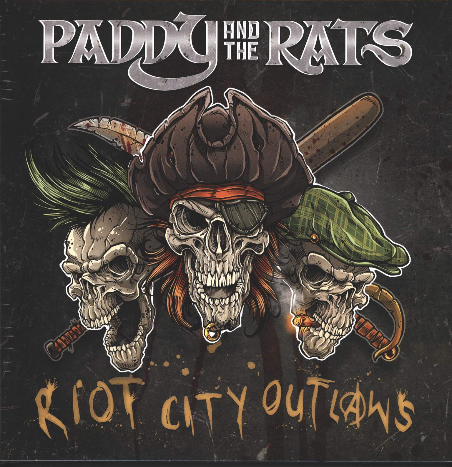 Paddy and the Rats: Riot City Outlaws, 1×LP (Vinyl)