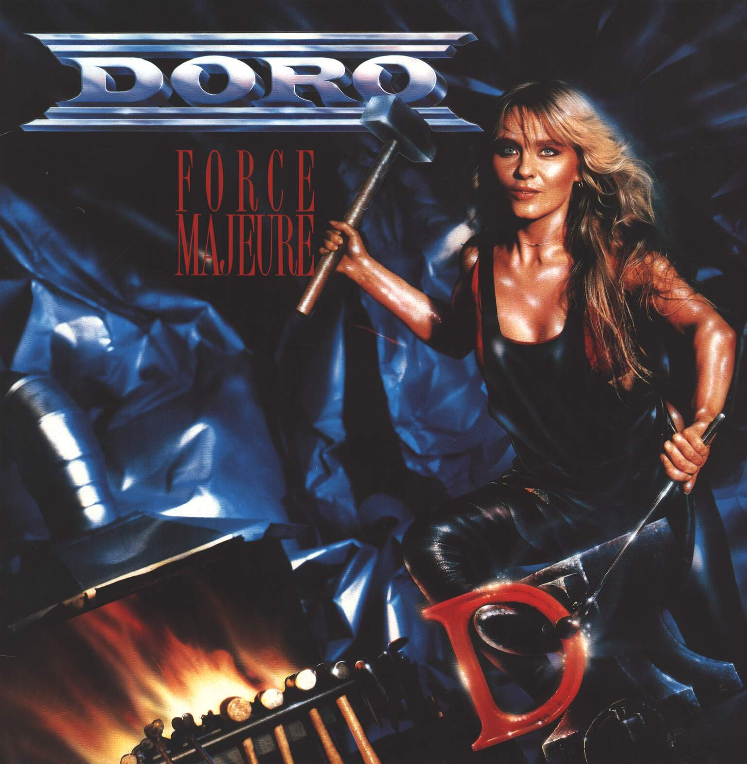 Doro: Force Majeure, 1×LP (Vinyl)