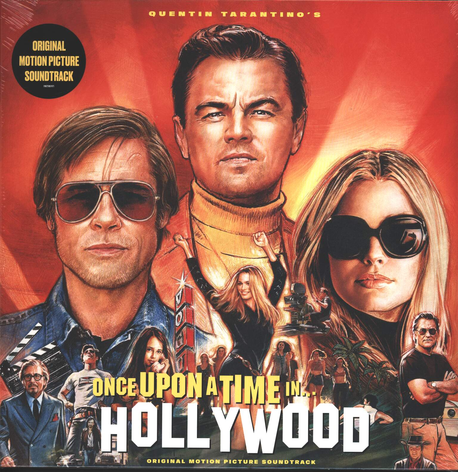 Various: Once Upon A Time In Hollywood (Original Motion Picture Soundtrack), 2×LP (Vinyl)