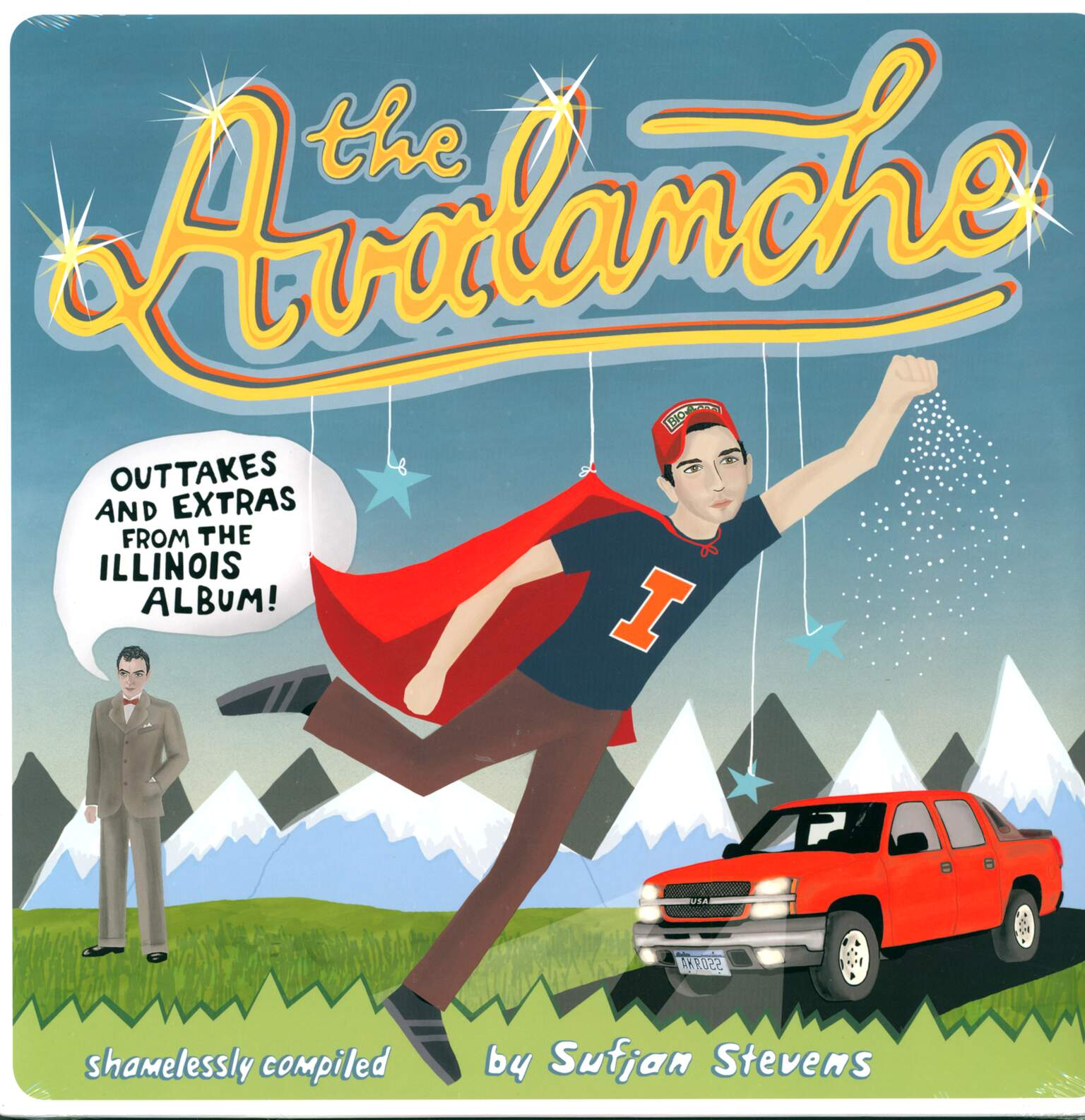 Sufjan Stevens: The Avalanche (Outtakes & Extras From The Illinois Album), 2×LP (Vinyl)
