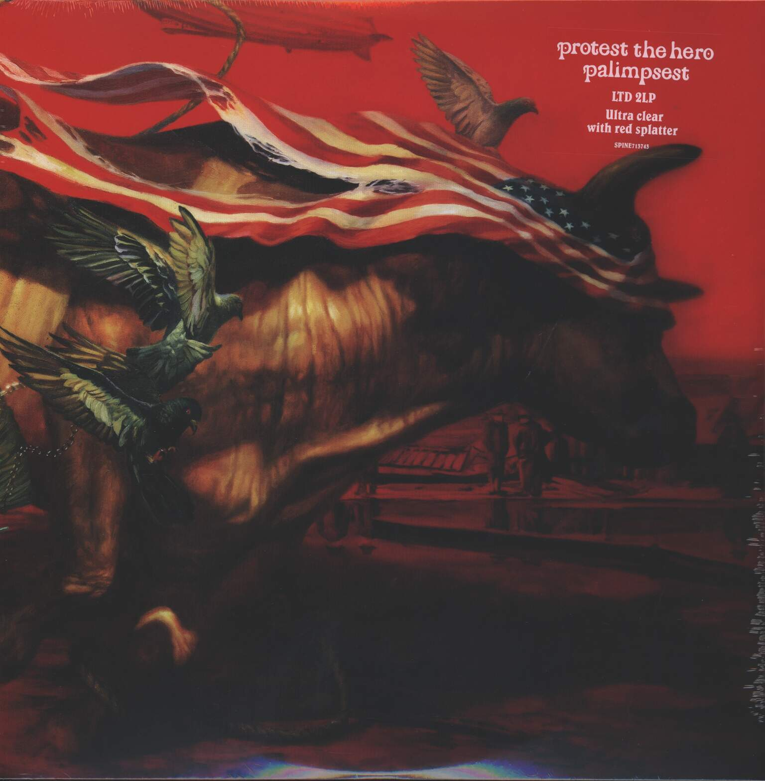 Protest The Hero: Palimpsest, 2×LP (Vinyl)
