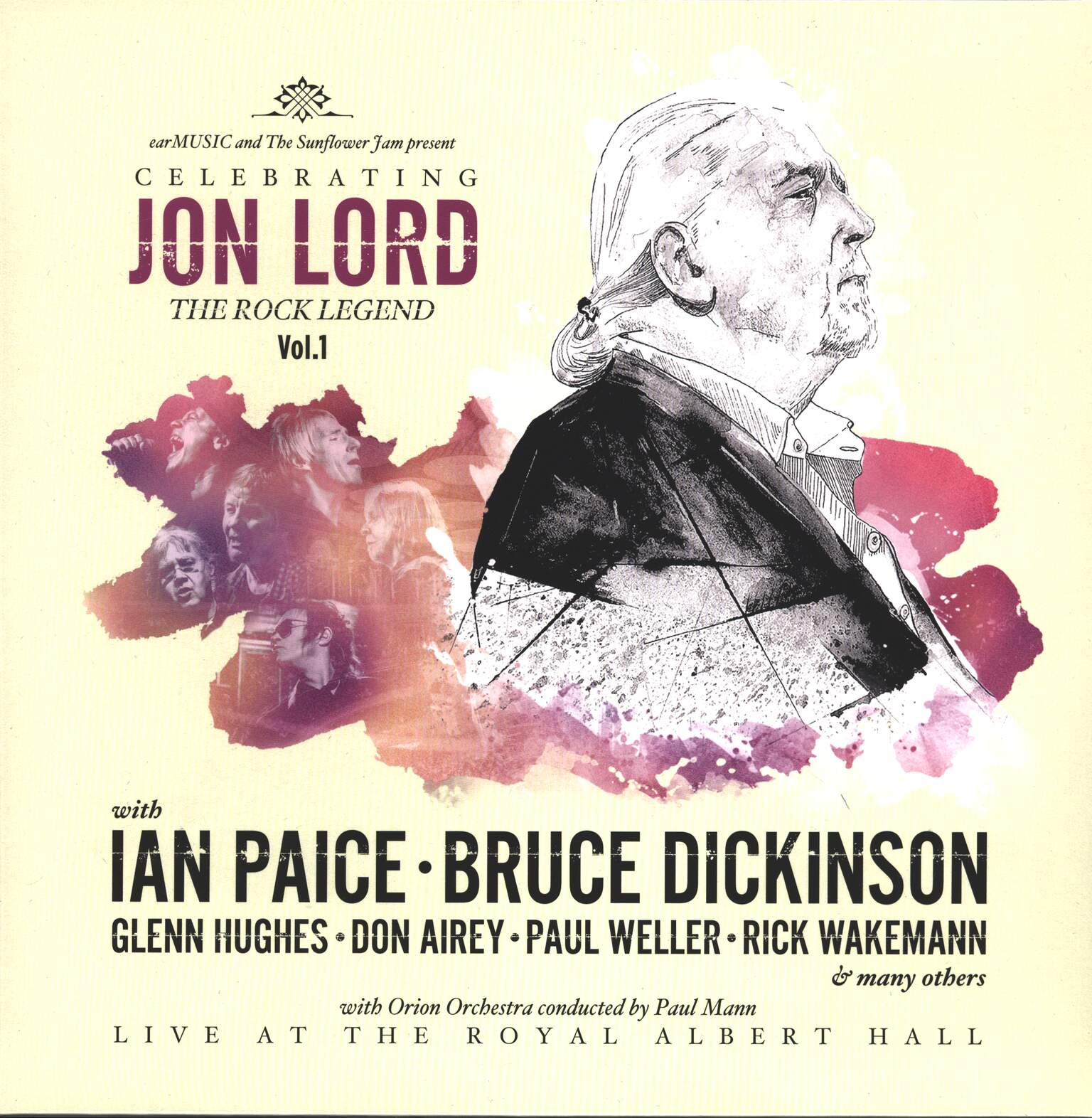 Various: Celebrating Jon Lord, The Rock Legend, Vol.1, 1×LP (Vinyl)