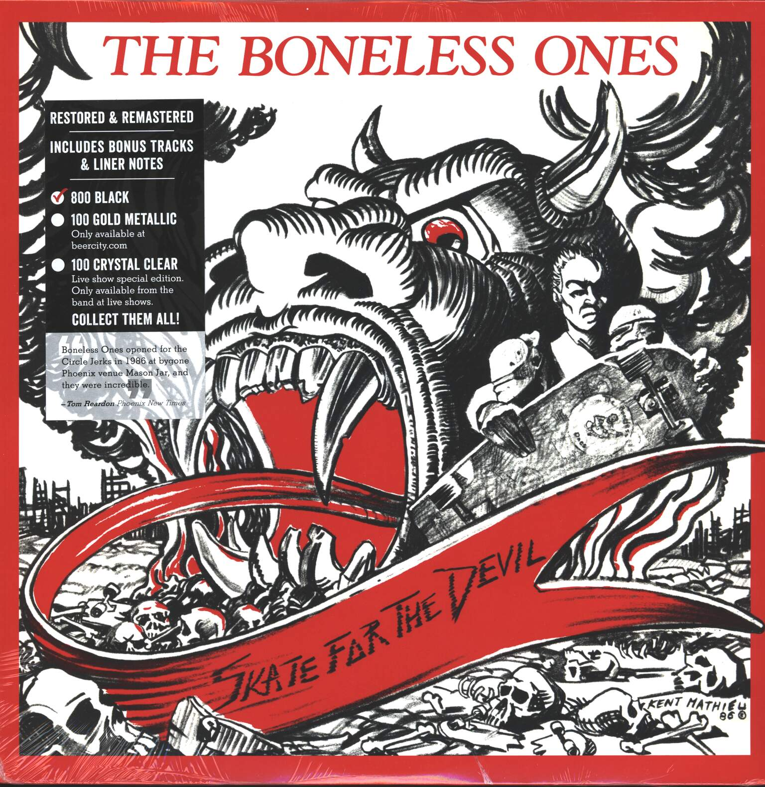 The Boneless Ones: Skate For The Devil, 1×LP (Vinyl)