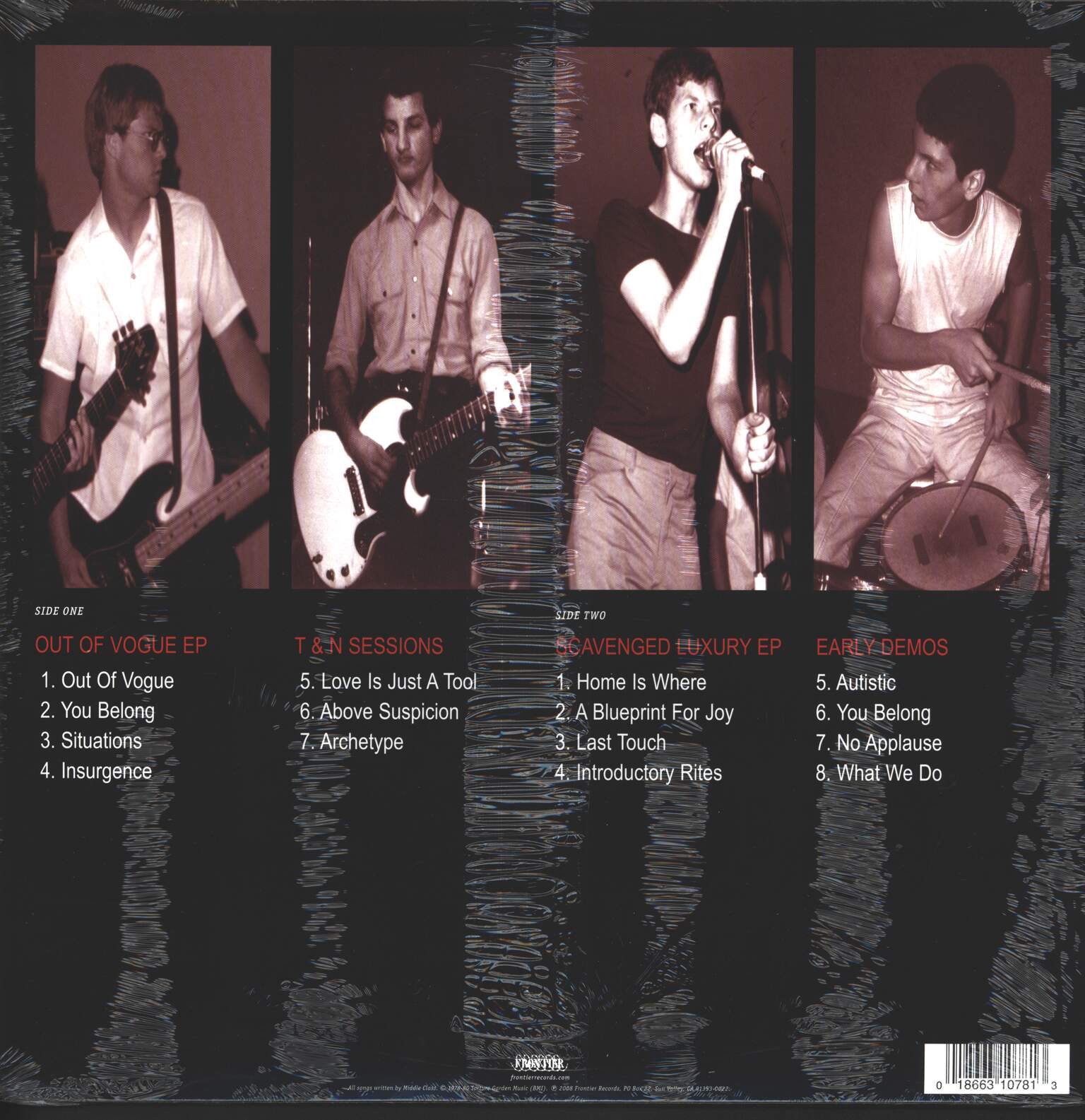 The Middle Class: Out Of Vogue - The Early Material, LP (Vinyl)