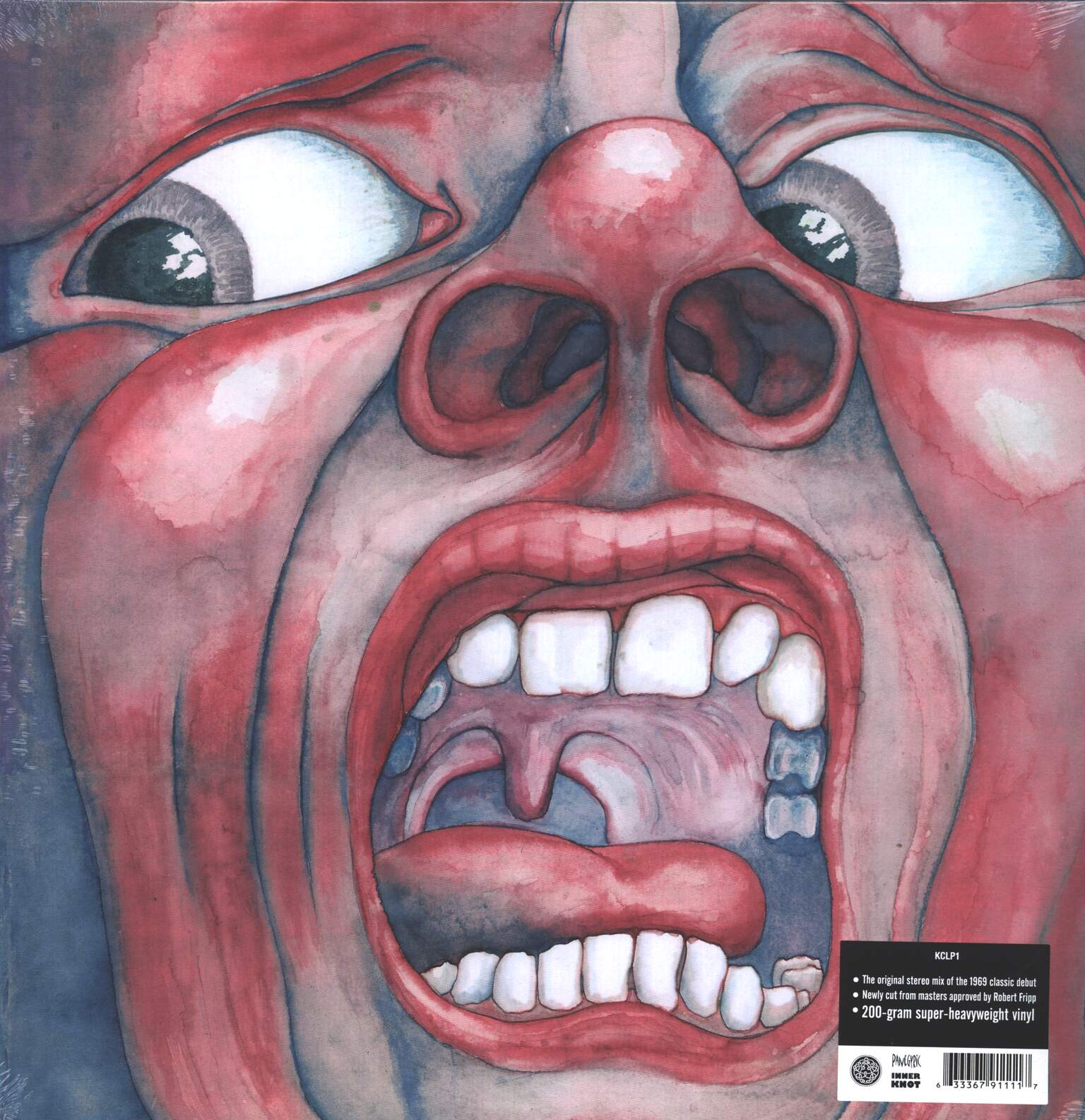 King Crimson: In The Court Of The Crimson King, 1×LP (Vinyl)