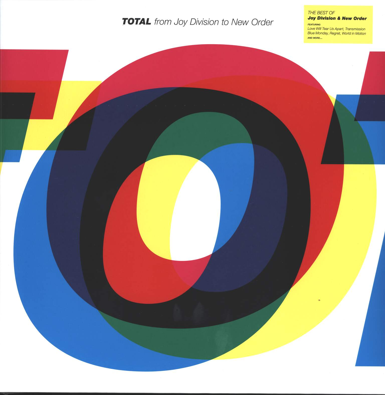 Joy Division: Total From Joy Division To New Order, 2×LP (Vinyl)