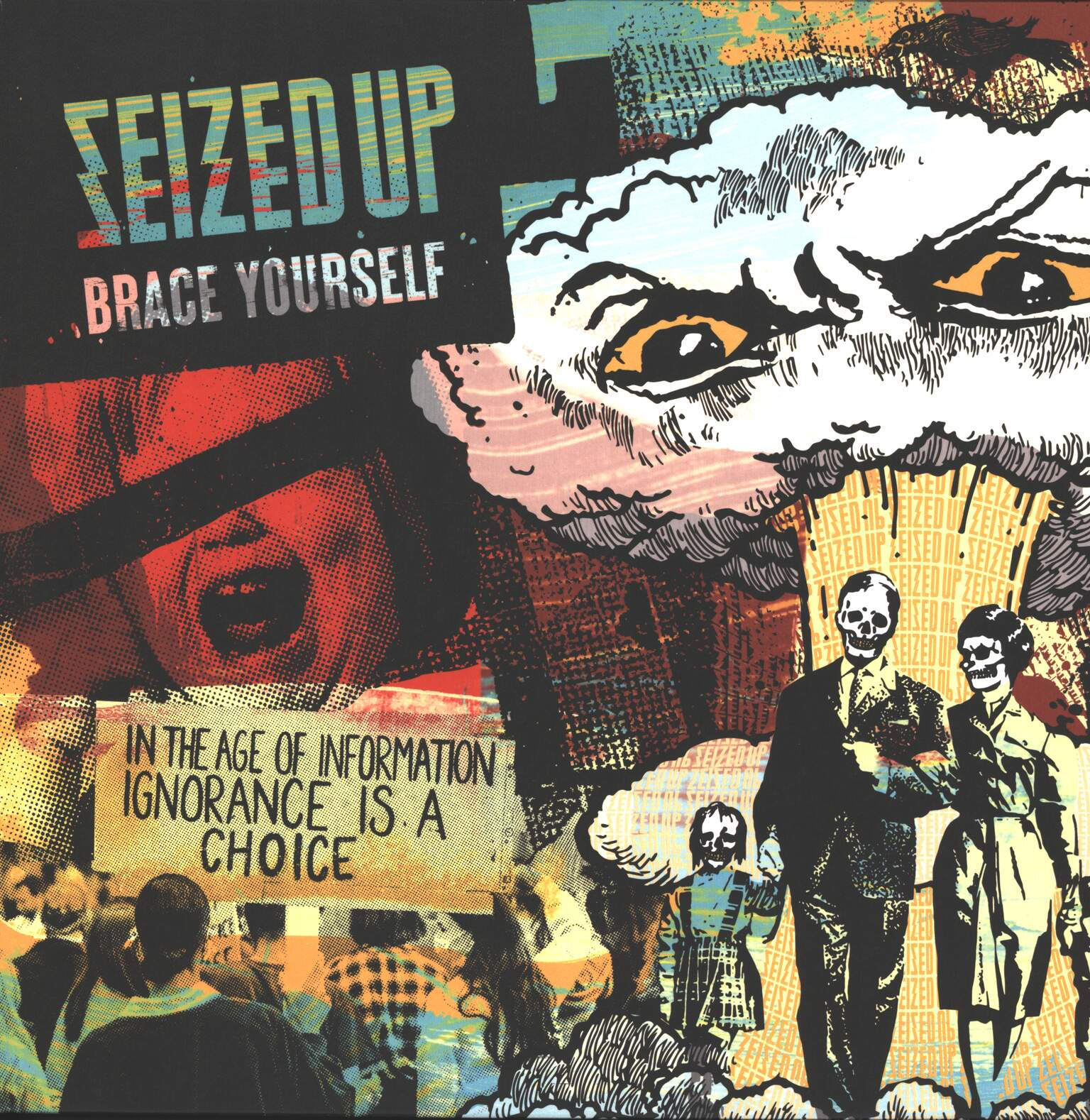 Seized Up: Brace Yourself, 1×LP (Vinyl)