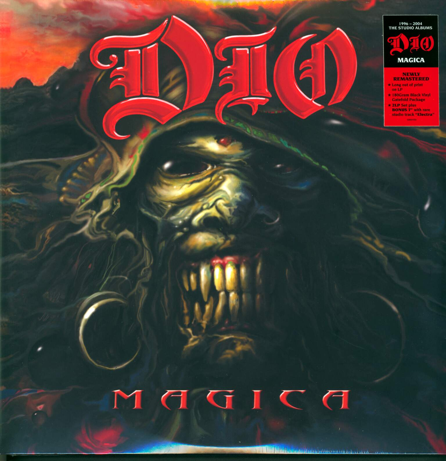 "Dio: Magica, 1×7"" Single (Vinyl), 2×LP (Vinyl)"