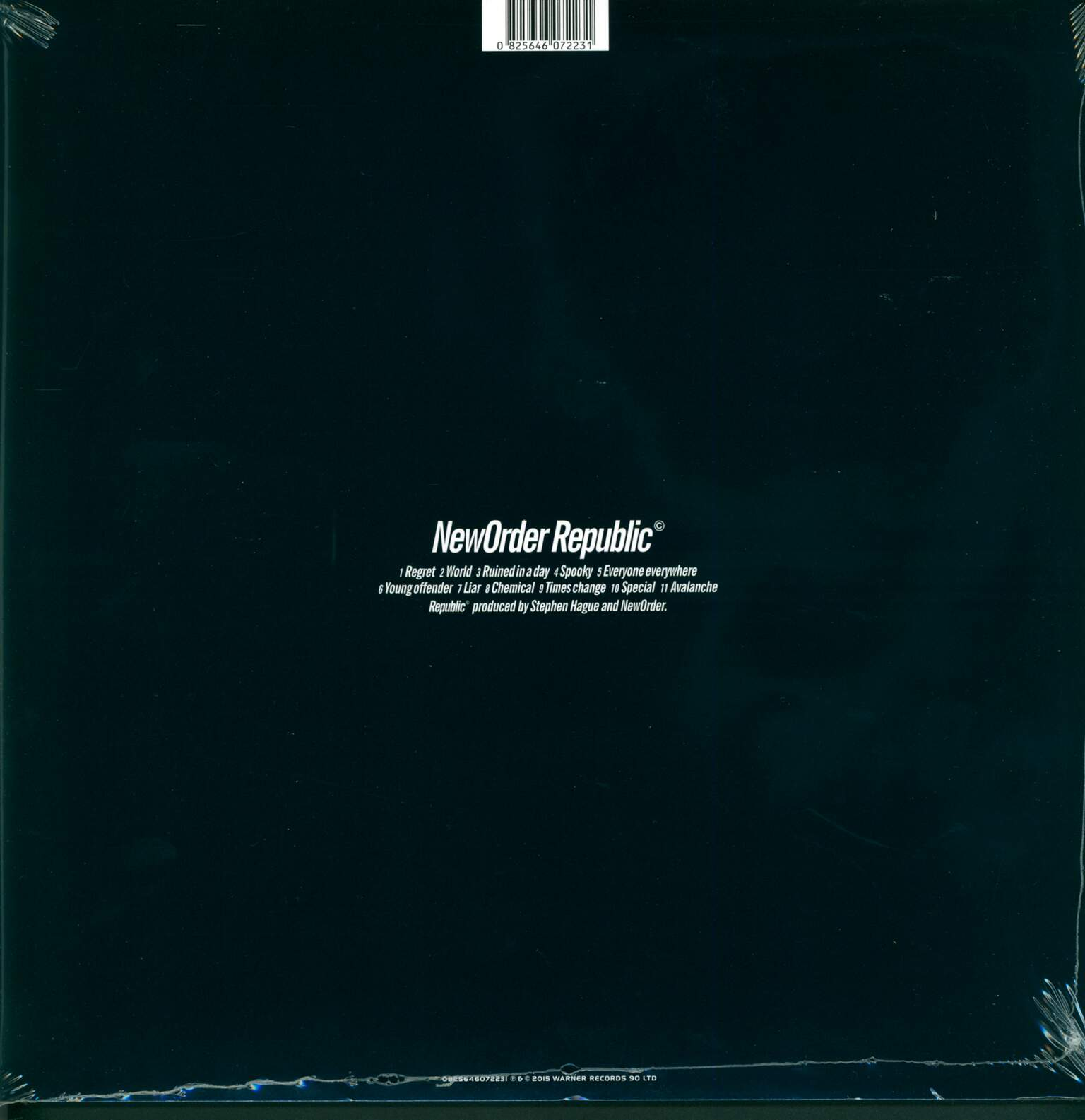 New Order: Republic, 1×LP (Vinyl)