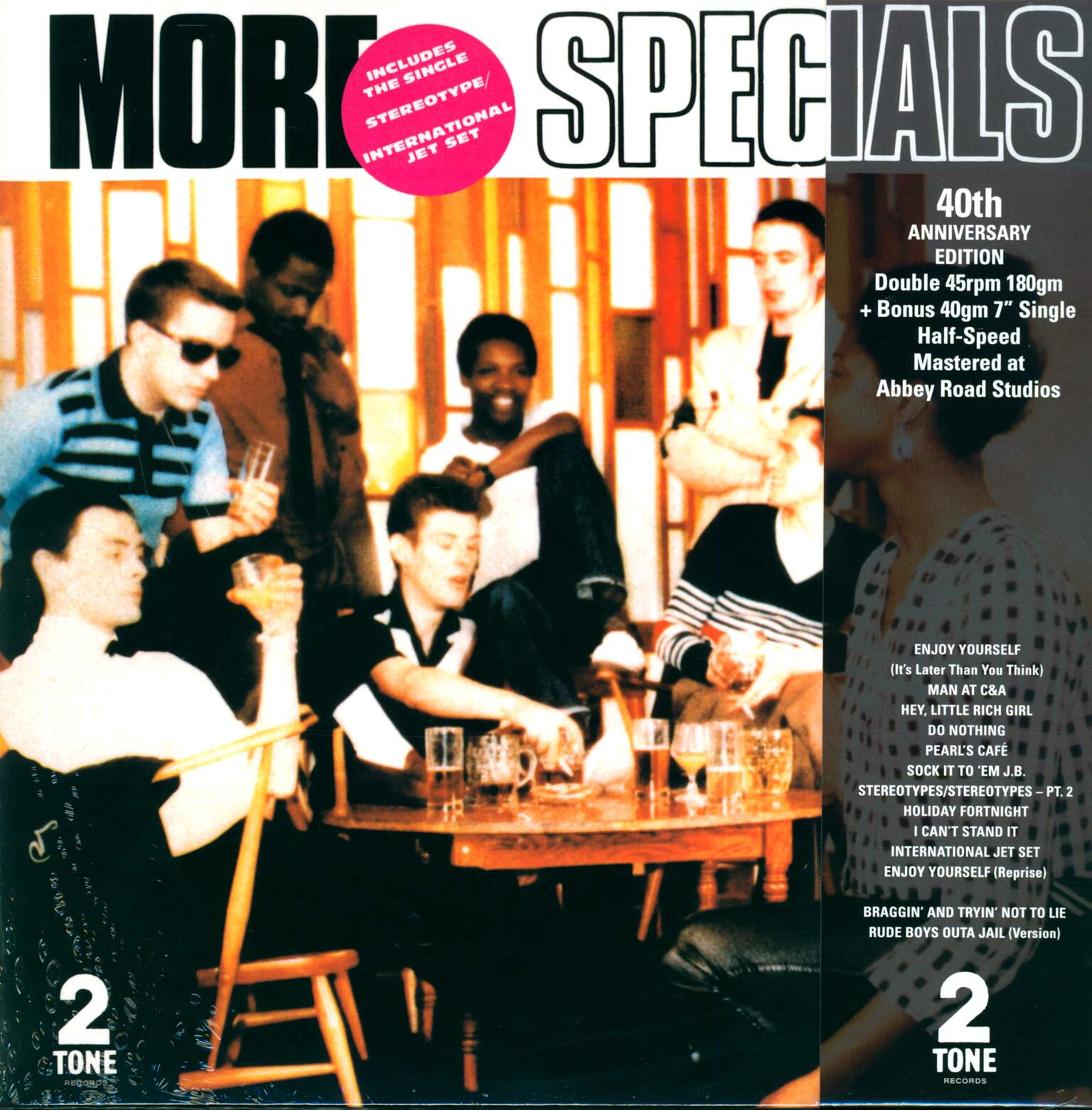 "The Specials: More Specials, 1×7"" Single (Vinyl), 2×LP (Vinyl)"