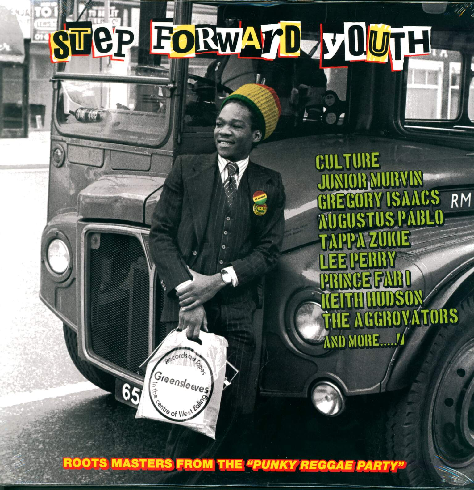 "Various: Step Forward Youth (Roots Masters From The ""Punky Reggae Party""), 1×LP (Vinyl)"