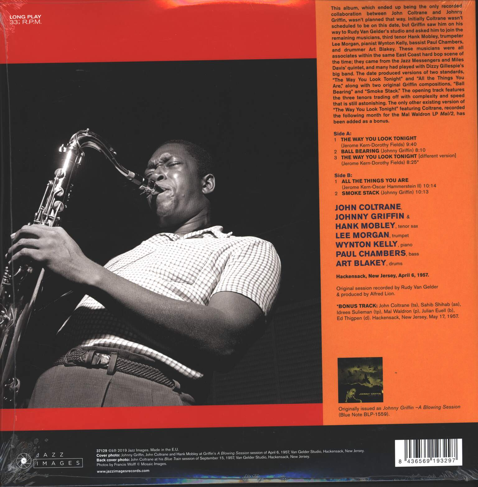 Johnny Griffin: A Blowing Session, 1×LP (Vinyl)