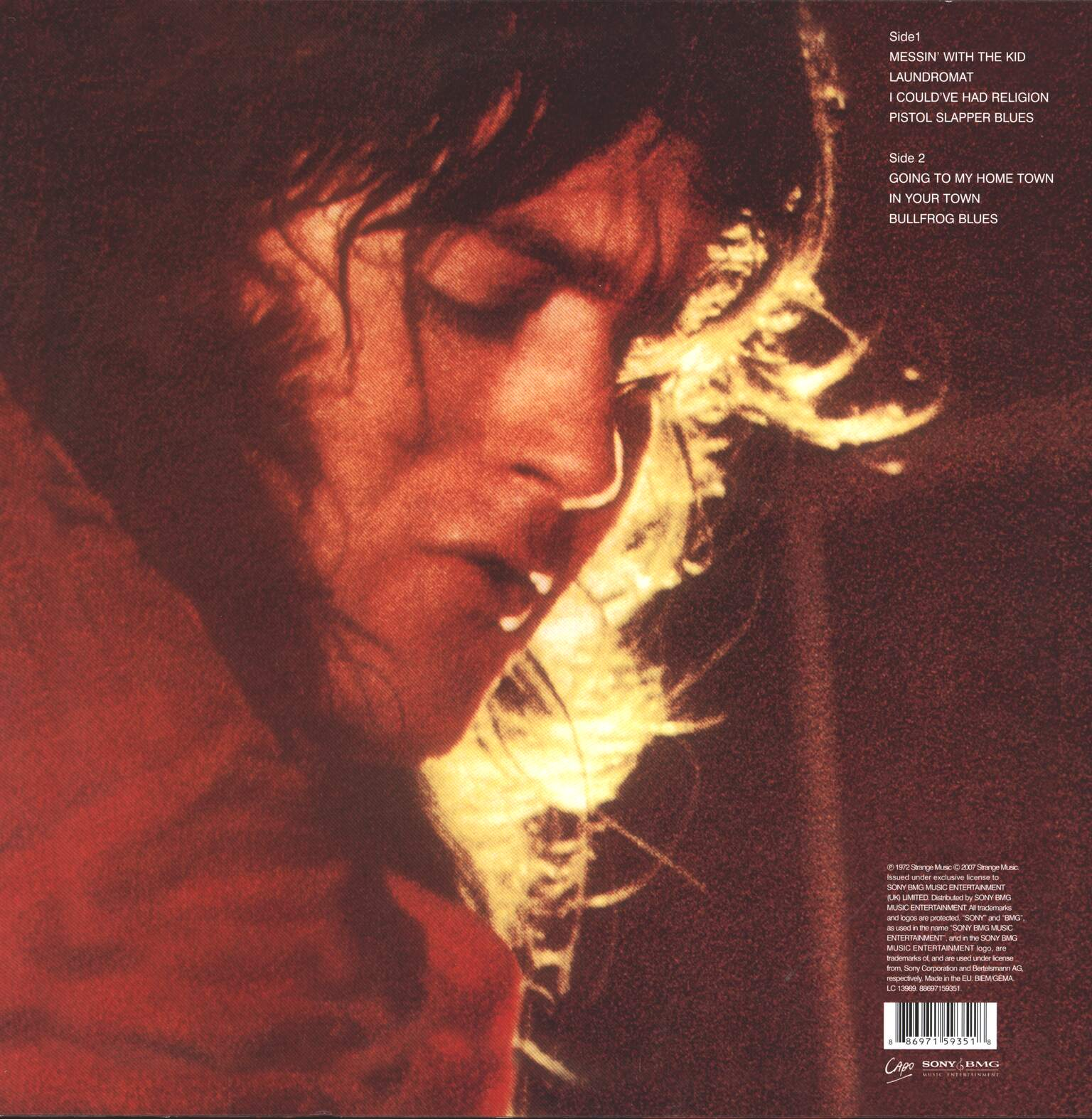 Rory Gallagher: Live! In Europe, 1×LP (Vinyl)