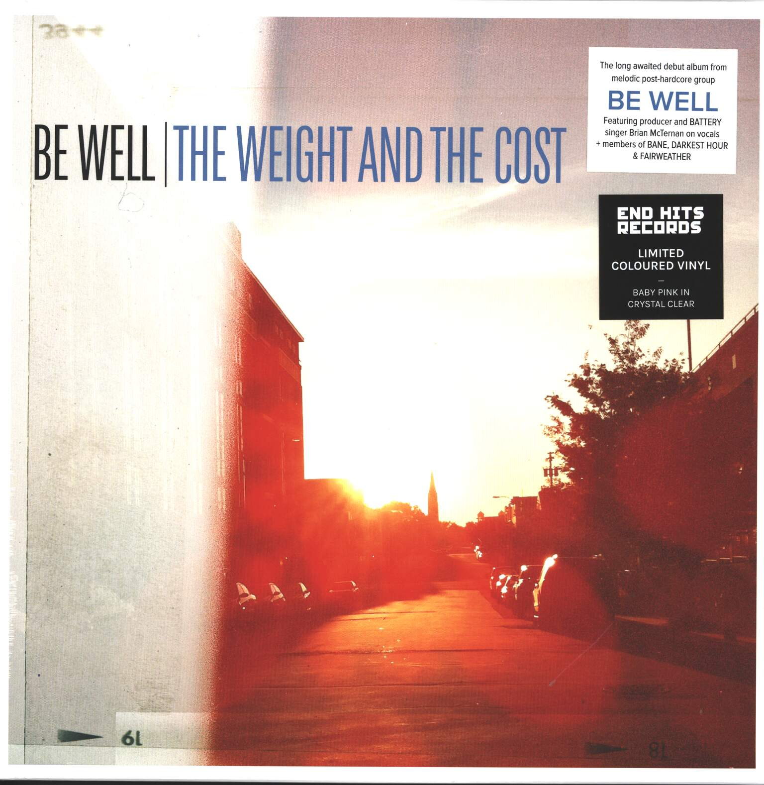 Be Well: The Weight And The Cost, 1×LP (Vinyl)