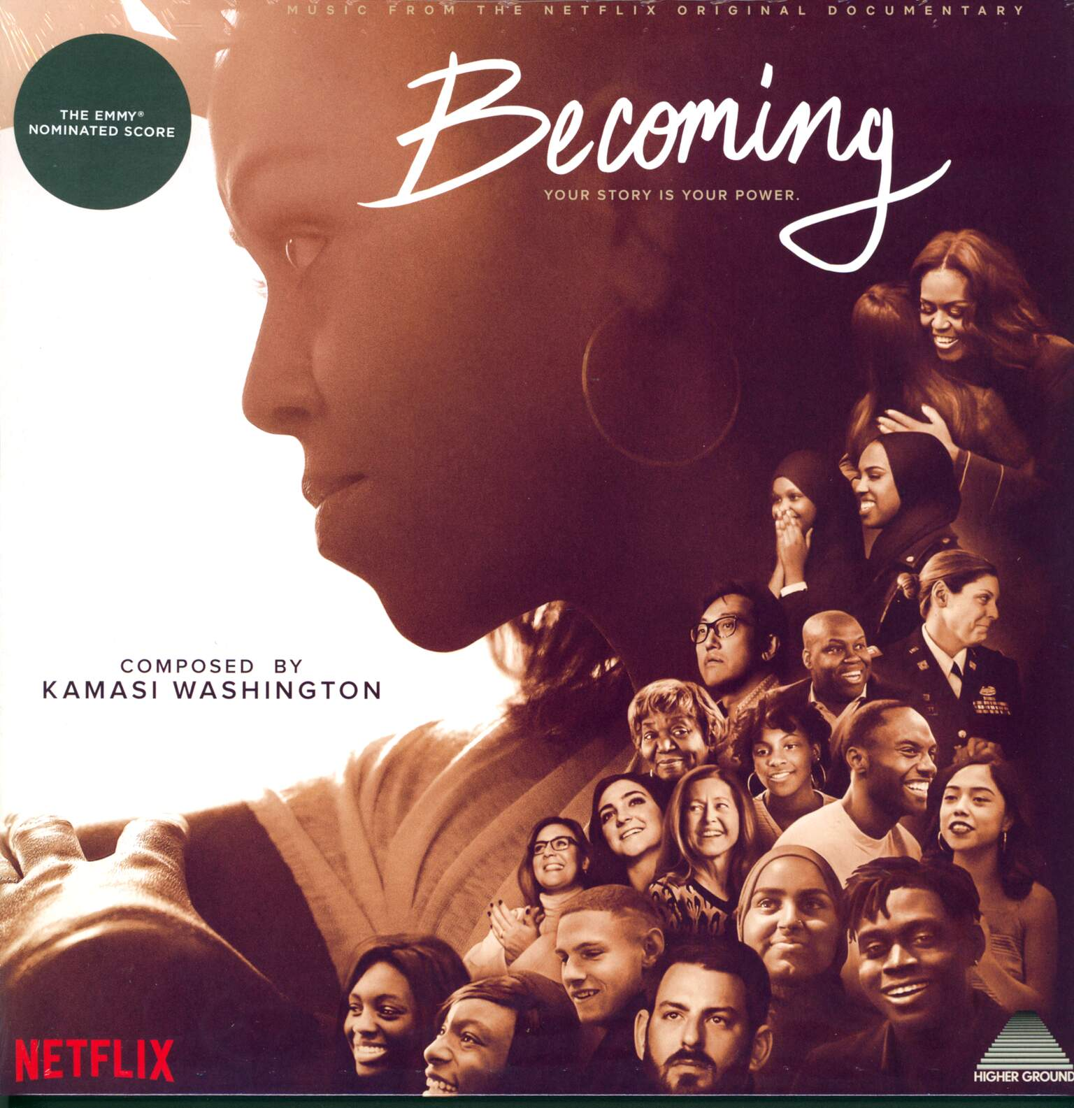 Kamasi Washington: Becoming (Music From The Netflix Original Documentary), 1×LP (Vinyl)