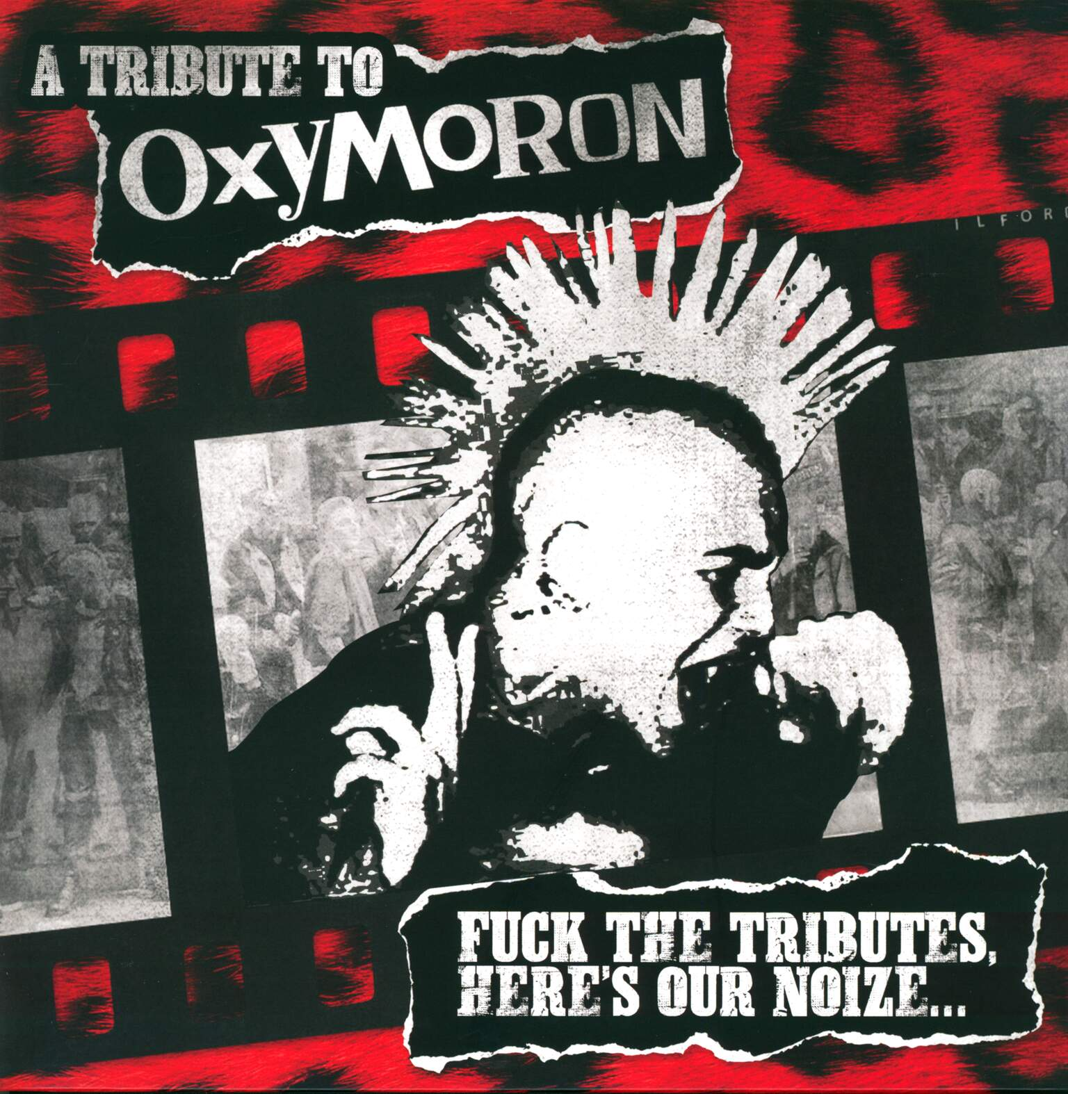 Various: A Tribute To Oxymoron - Fuck The Tributes, Here's Our Noize..., 1×LP (Vinyl)