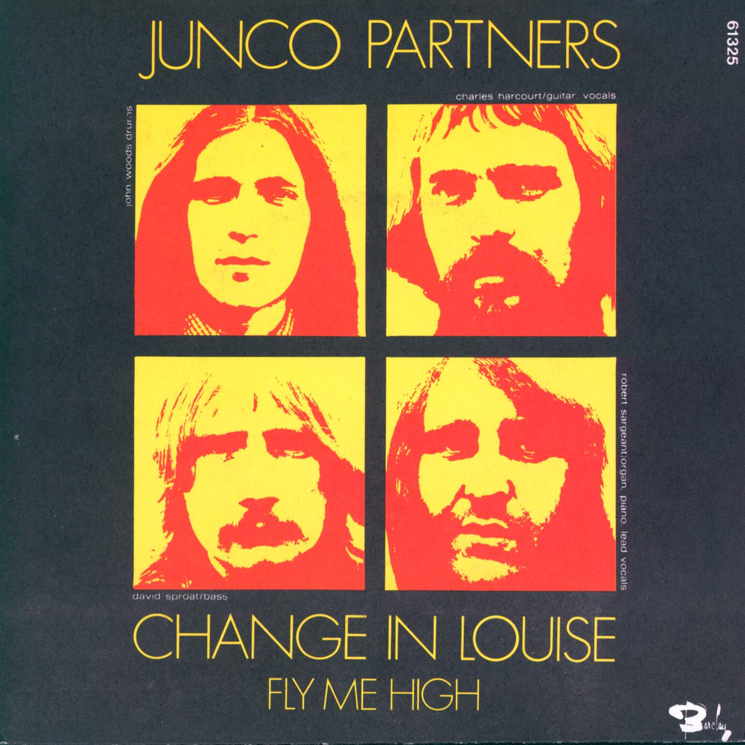 "Junco Partners: Change In Louise / Fly Me High, 1×7"" Single (Vinyl)"