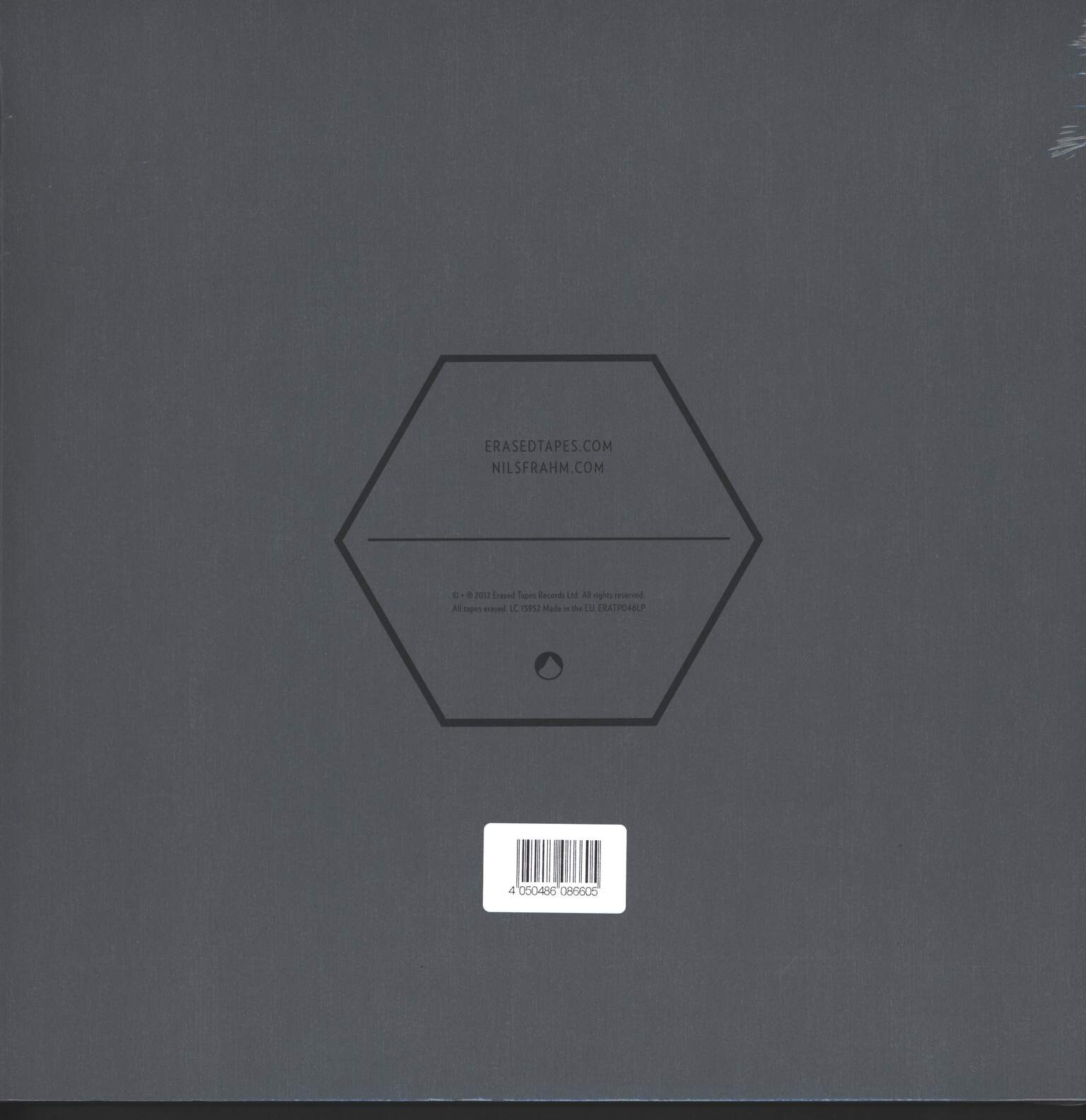 Nils Frahm: Screws, 1×LP (Vinyl)