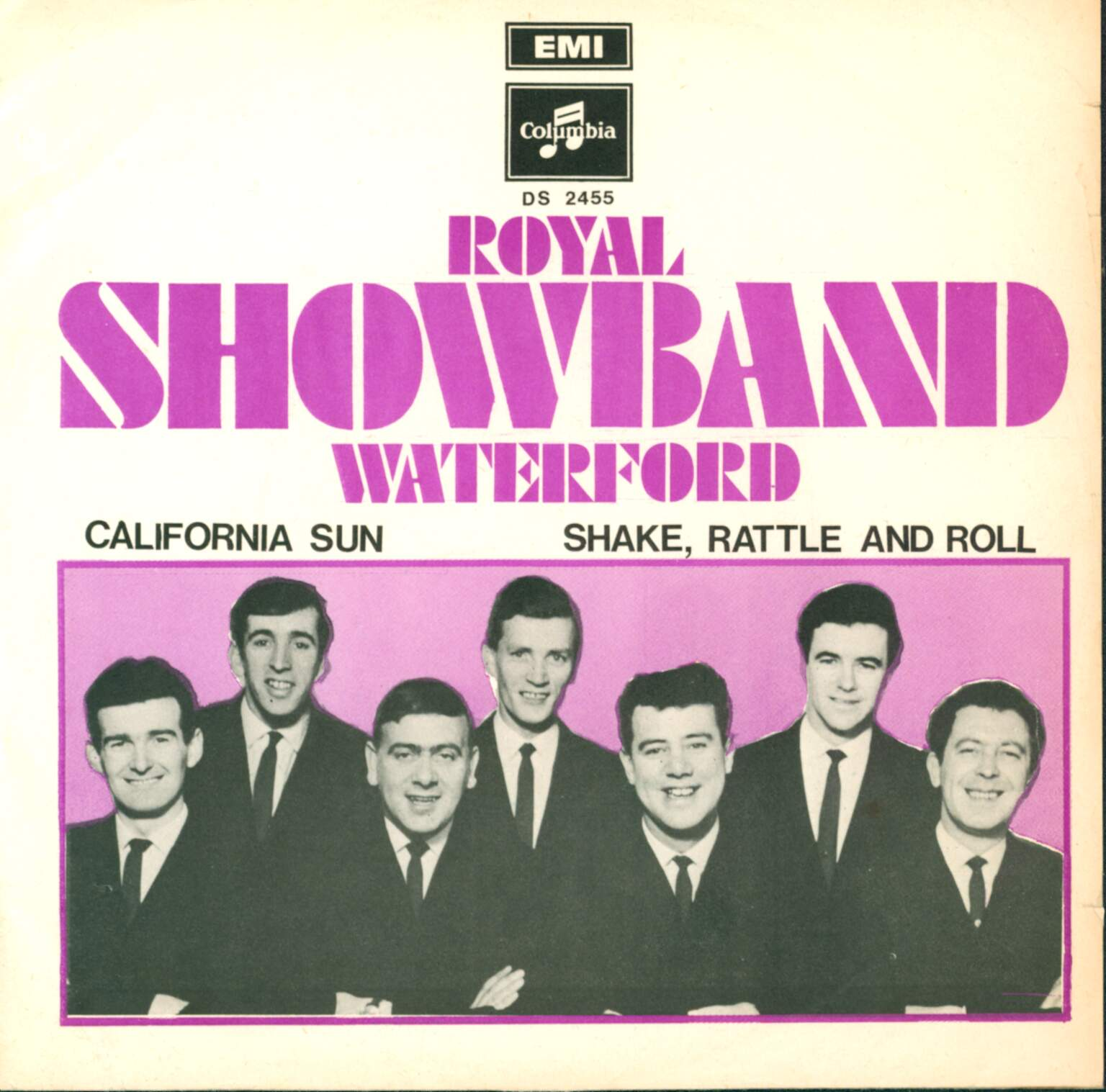 "The Royal Showband Waterford: California Sun, 1×7"" Single (Vinyl)"