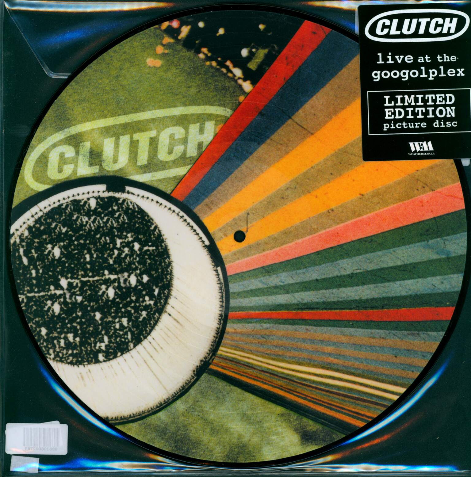 Clutch: Live At The Googolplex, 1×LP (Vinyl)