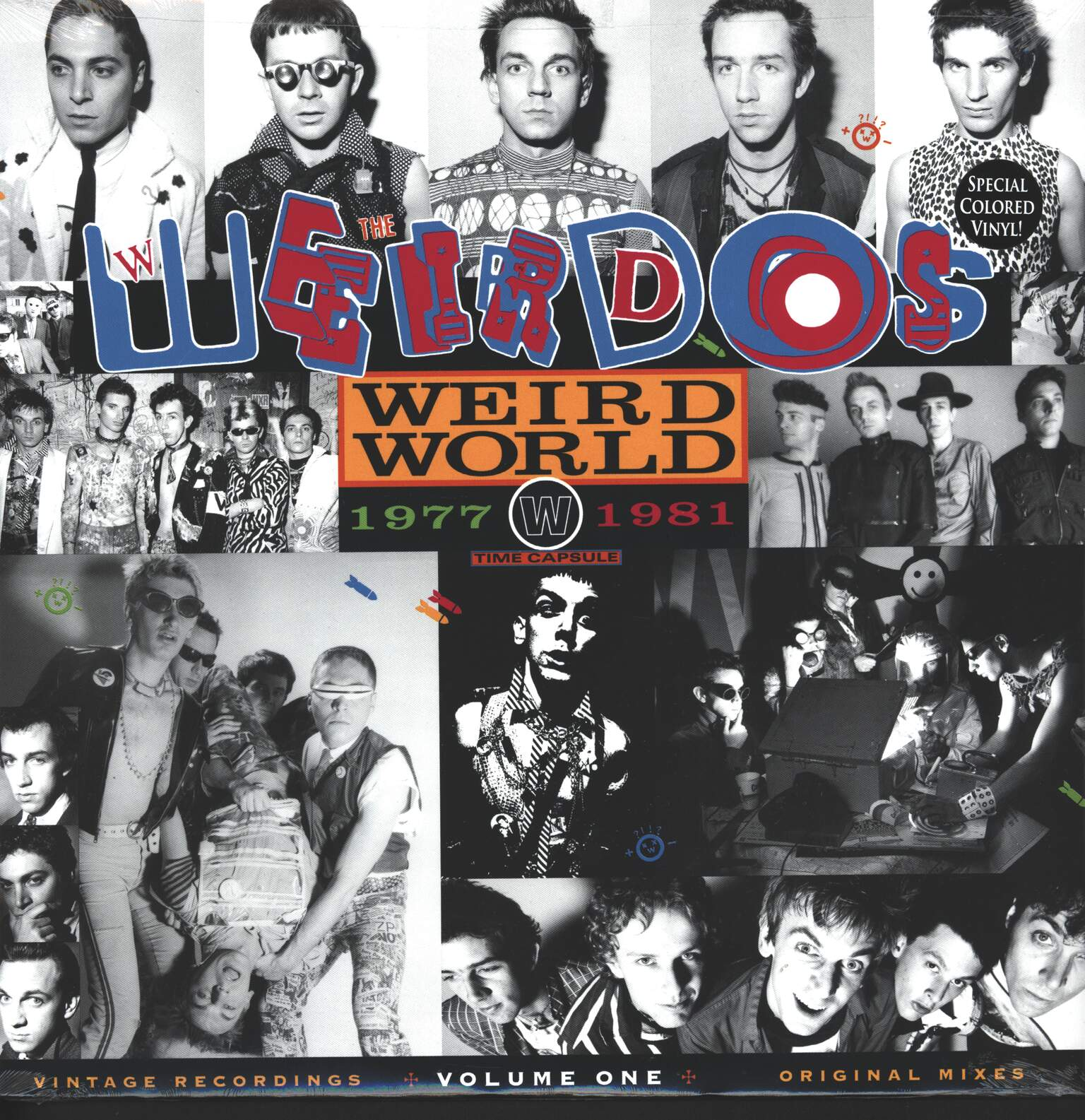The Weirdos: Weird World - Volume One 1977-1981, 1×LP (Vinyl)