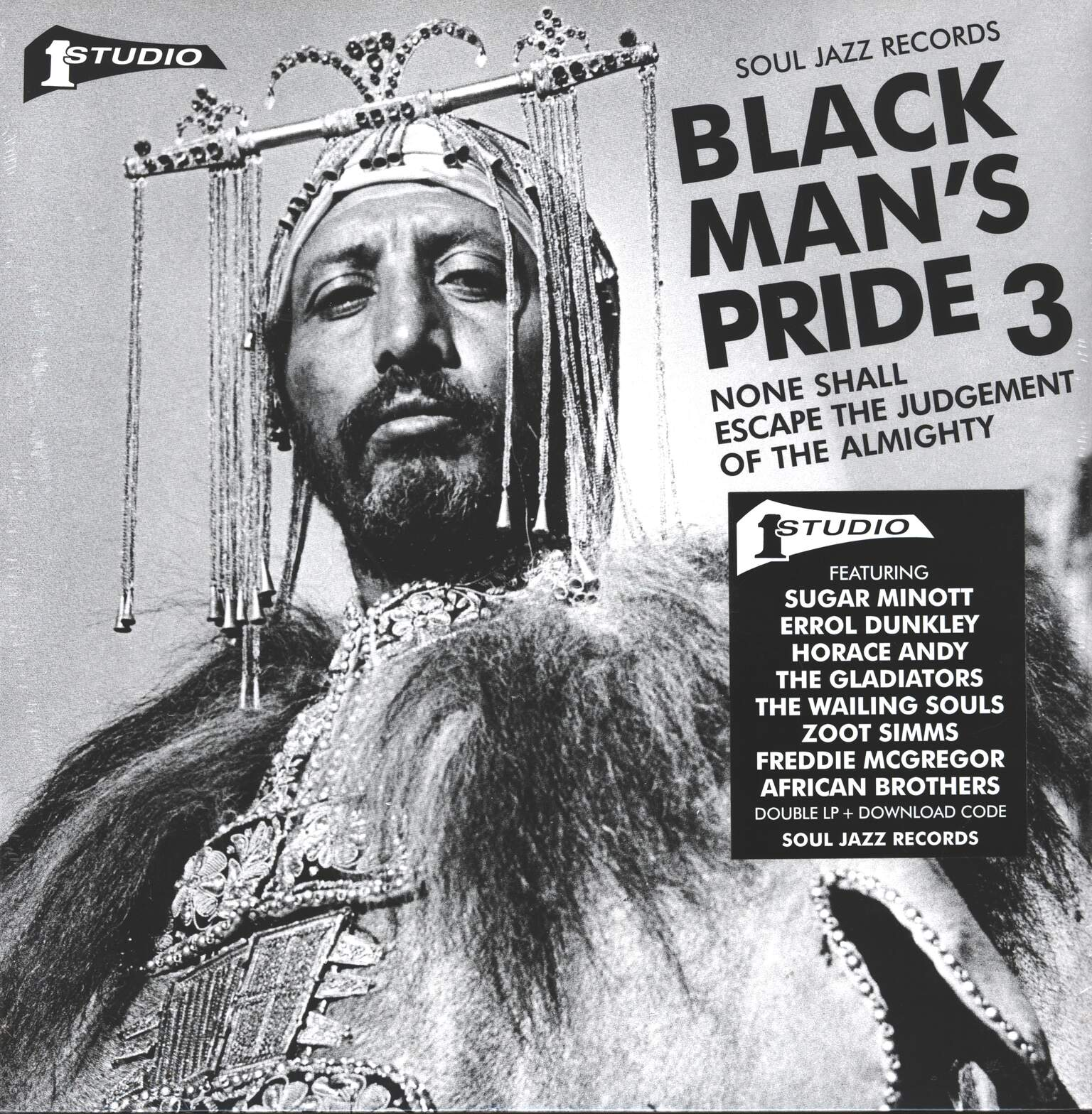 Various: Black Man's Pride 3 (None Shall Escape The Judgement Of The Almighty), 2×LP (Vinyl)
