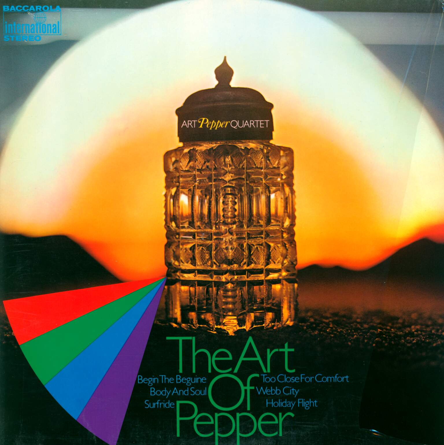 Art Pepper Quartet: The Art Of Pepper, 1×LP (Vinyl)